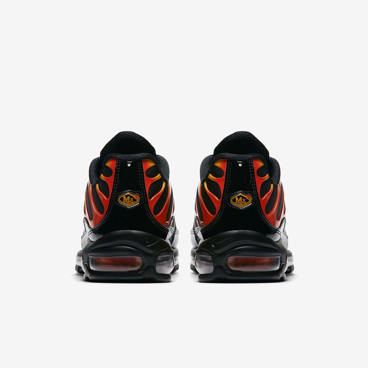 scarpa nike air max 97 plus neroengine 1shock orangenero