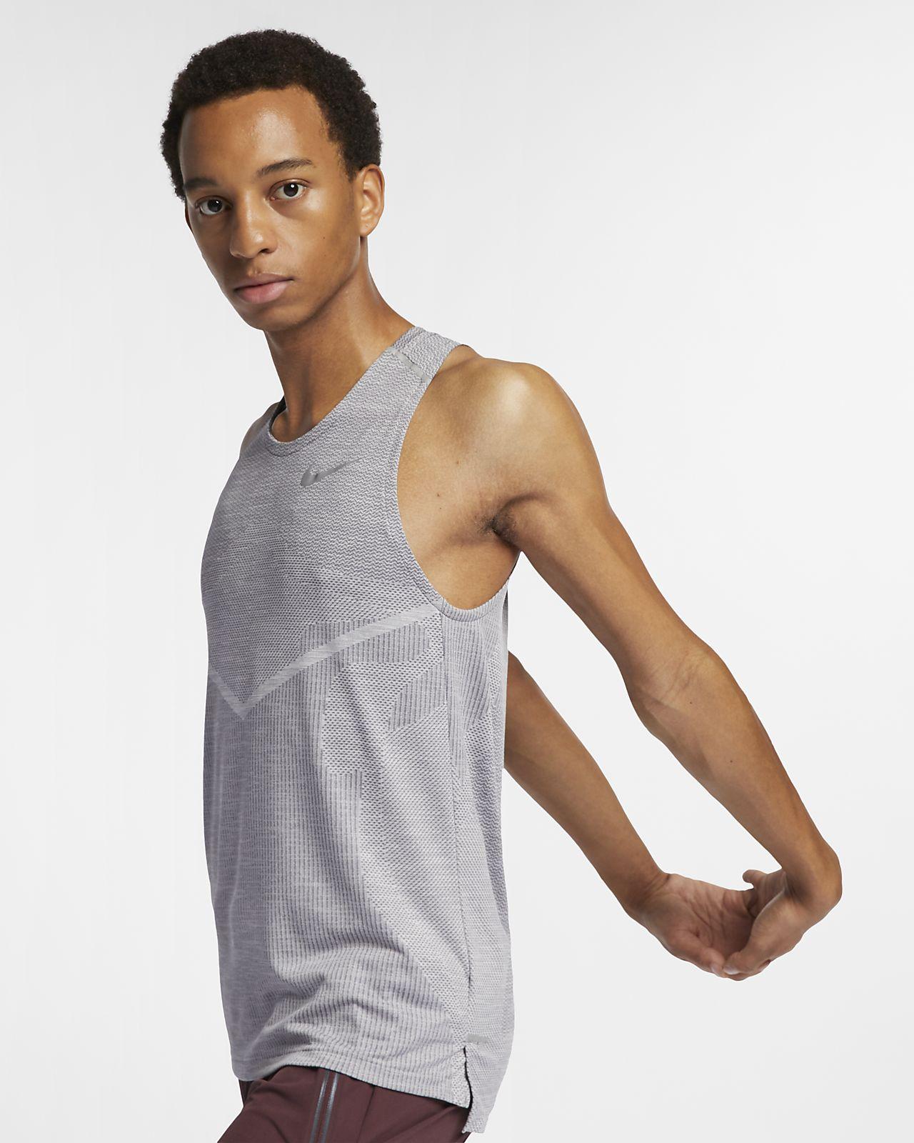 Nike TechKnit Cool-løbetanktop til mænd