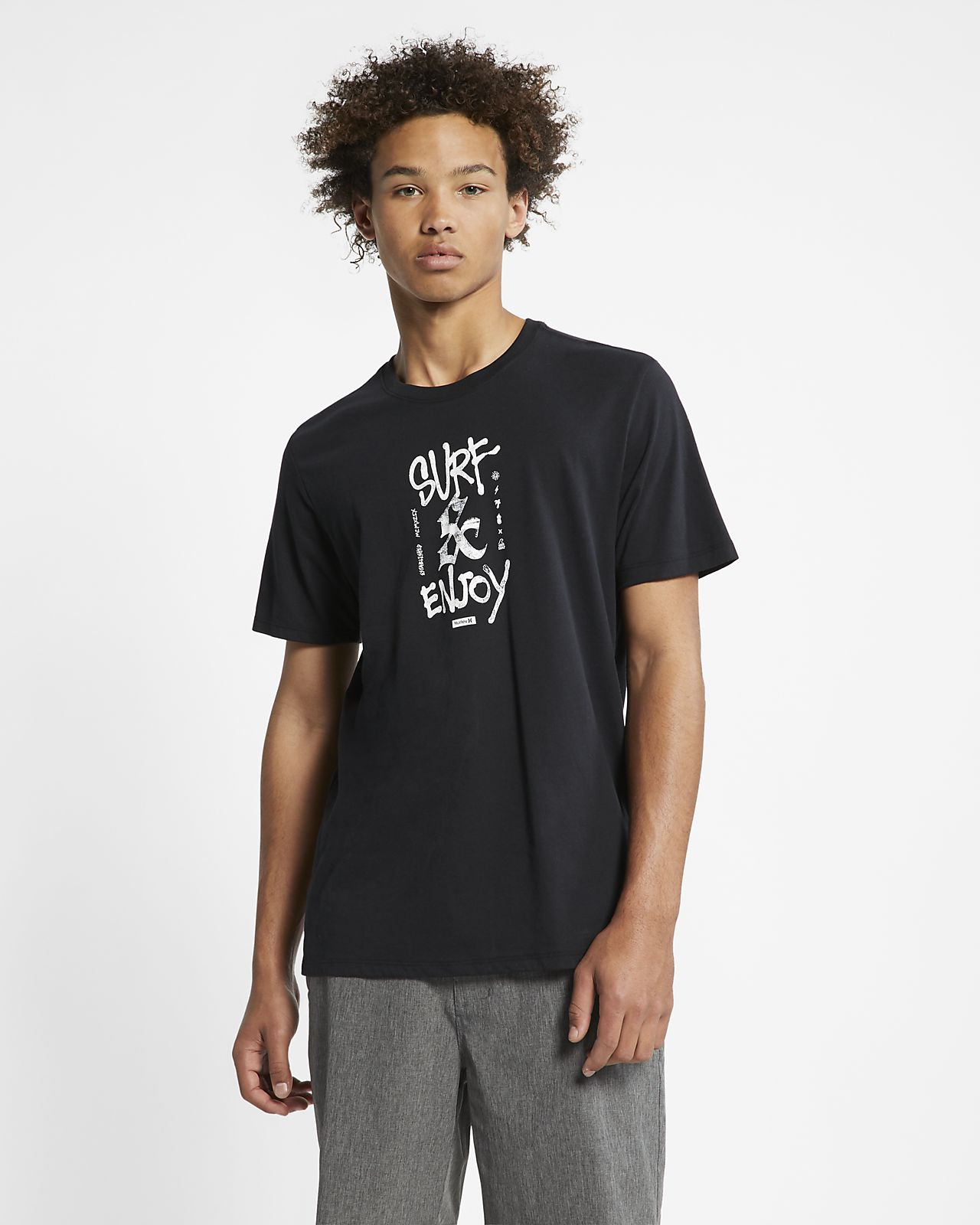 T-shirt Hurley Dri-FIT Surf And Enjoy - Uomo