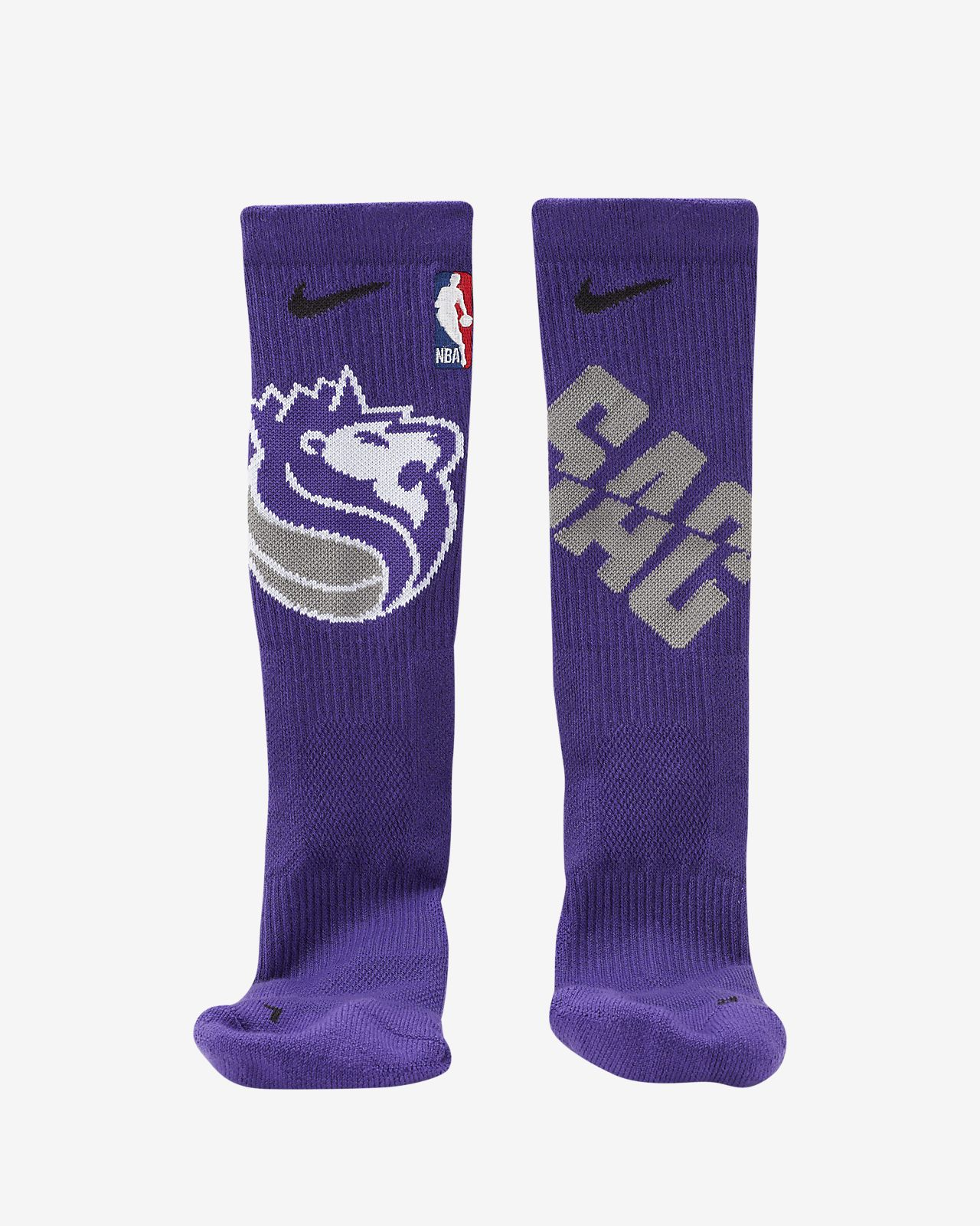 Sacramento Kings Nike Elite NBA Crew Socks
