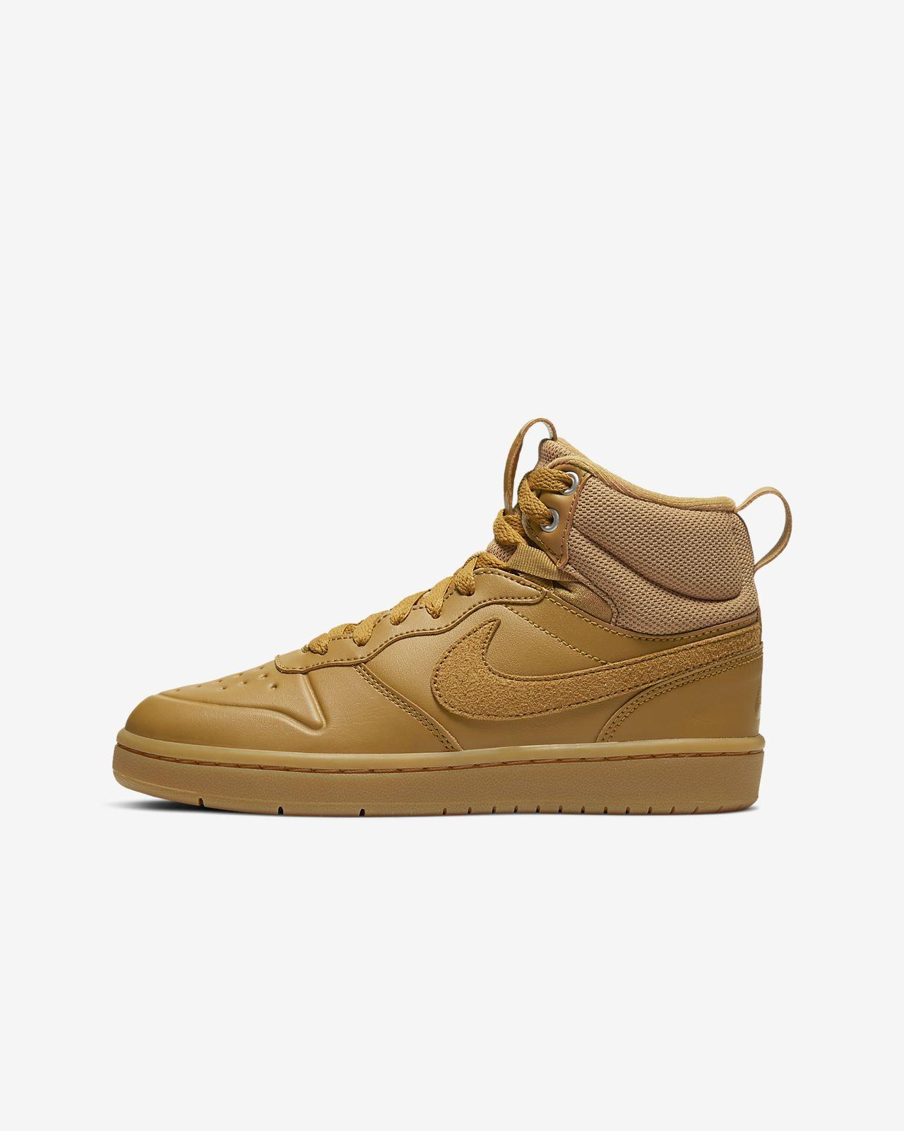 Buty dla dużych dzieci Nike Court Borough Mid 2 Boot