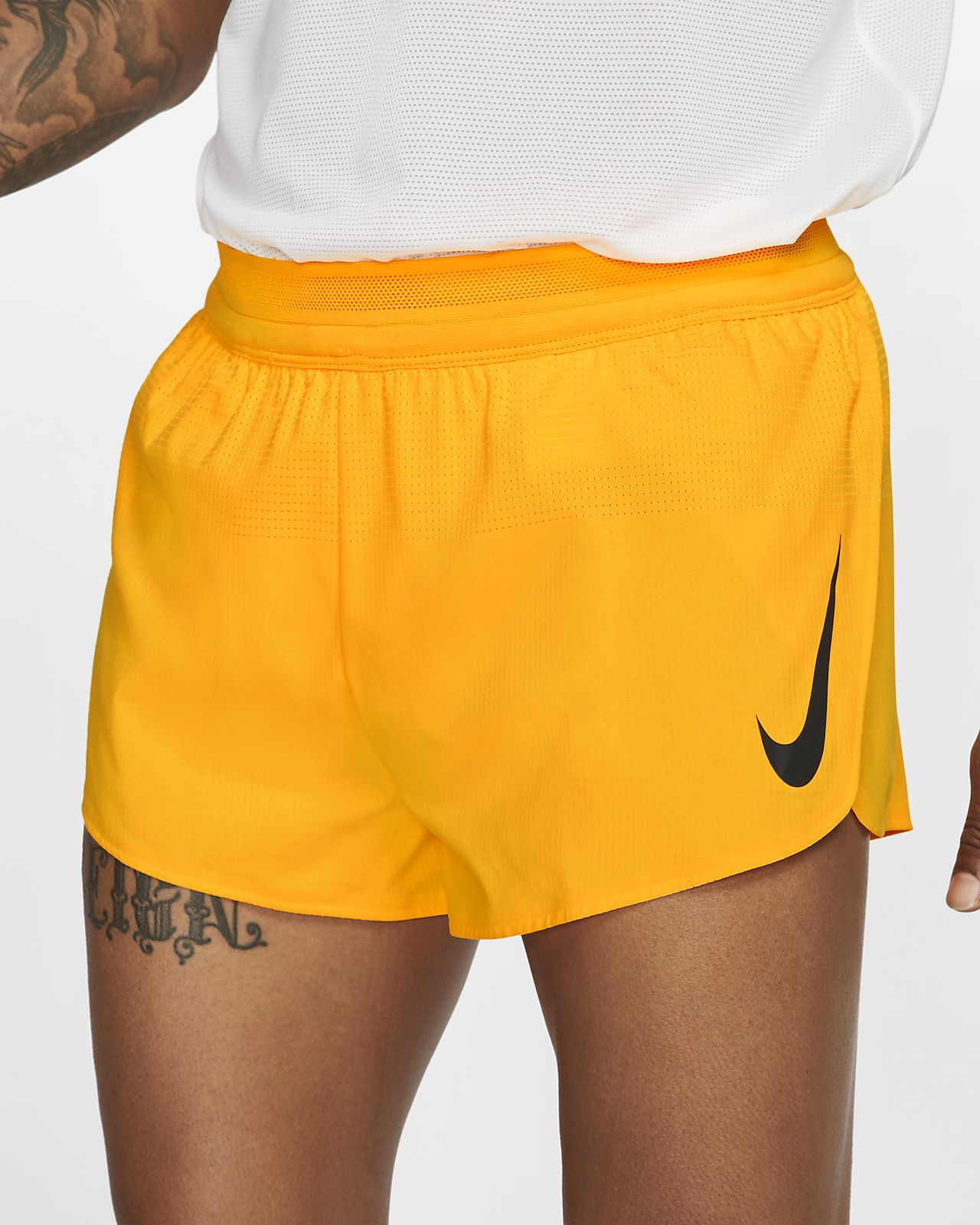 Short de running Nike AeroSwift (London) 5 cm pour Homme