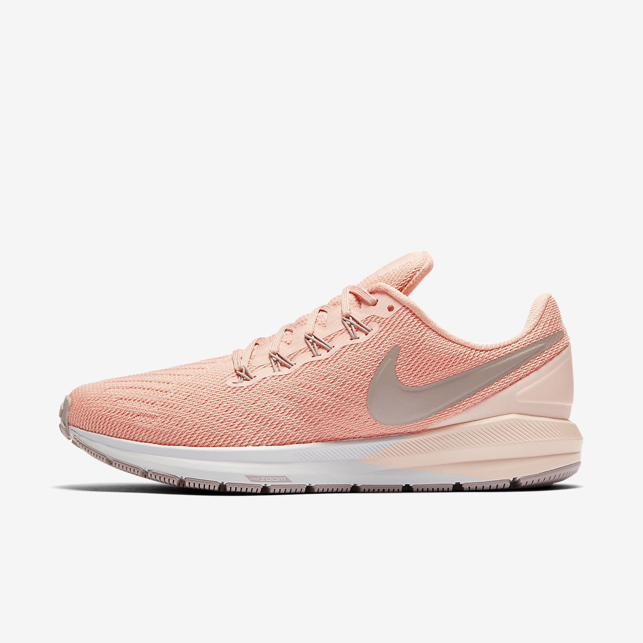 Scarpe da running Nike Air Zoom Strong da donna rosa bianca