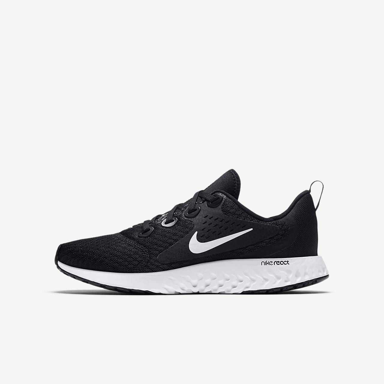 5faffa925a4 Nike Legend React Big Kids  Running Shoe. Nike.com