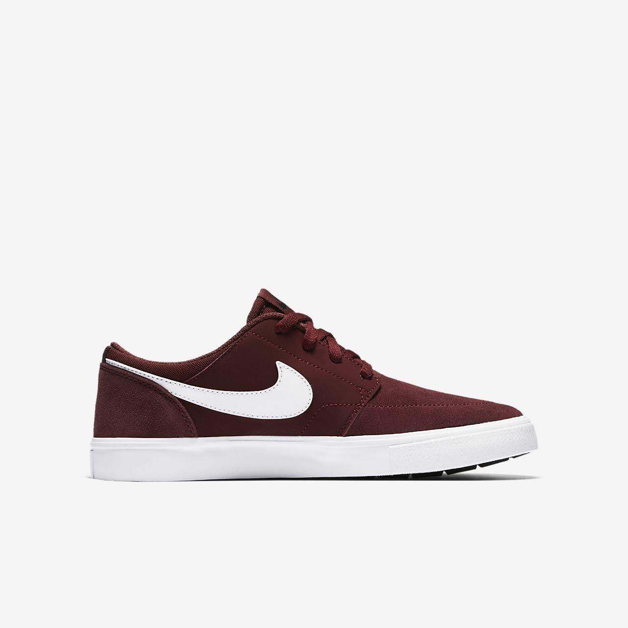 ... Nike SB Portmore II Older Kids' Skateboarding Shoe