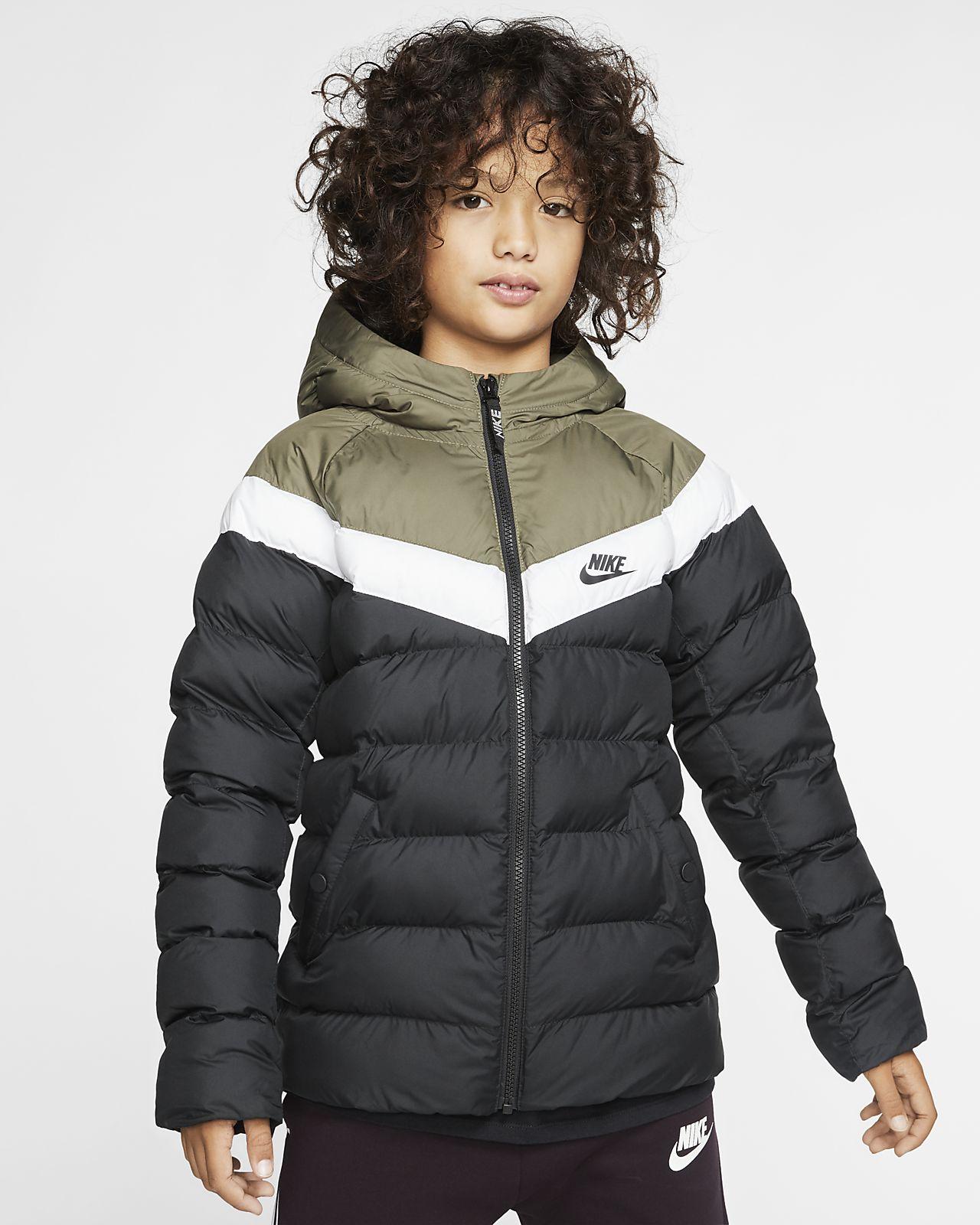 Kurtka z syntetycznym wypełnieniem dla dużych dzieci Nike Sportswear