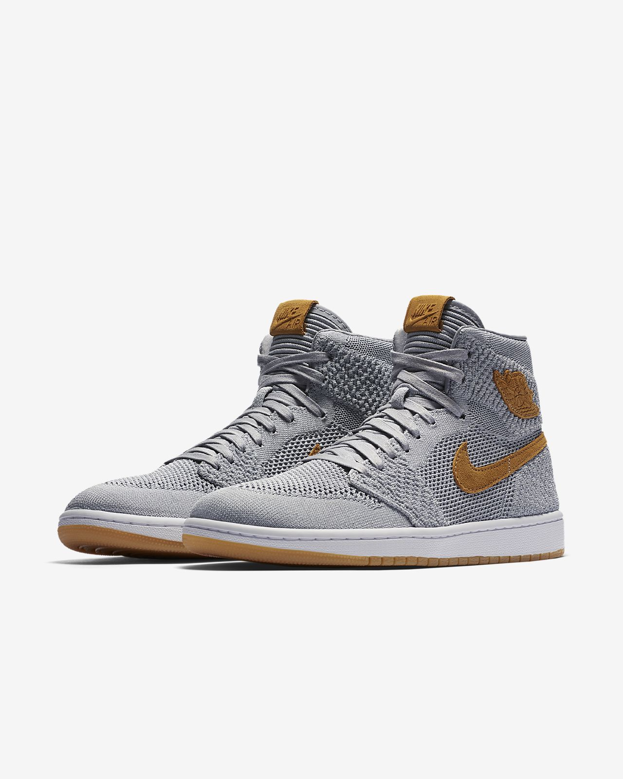 ... Air Jordan 1 Retro High Flyknit Men's Shoe