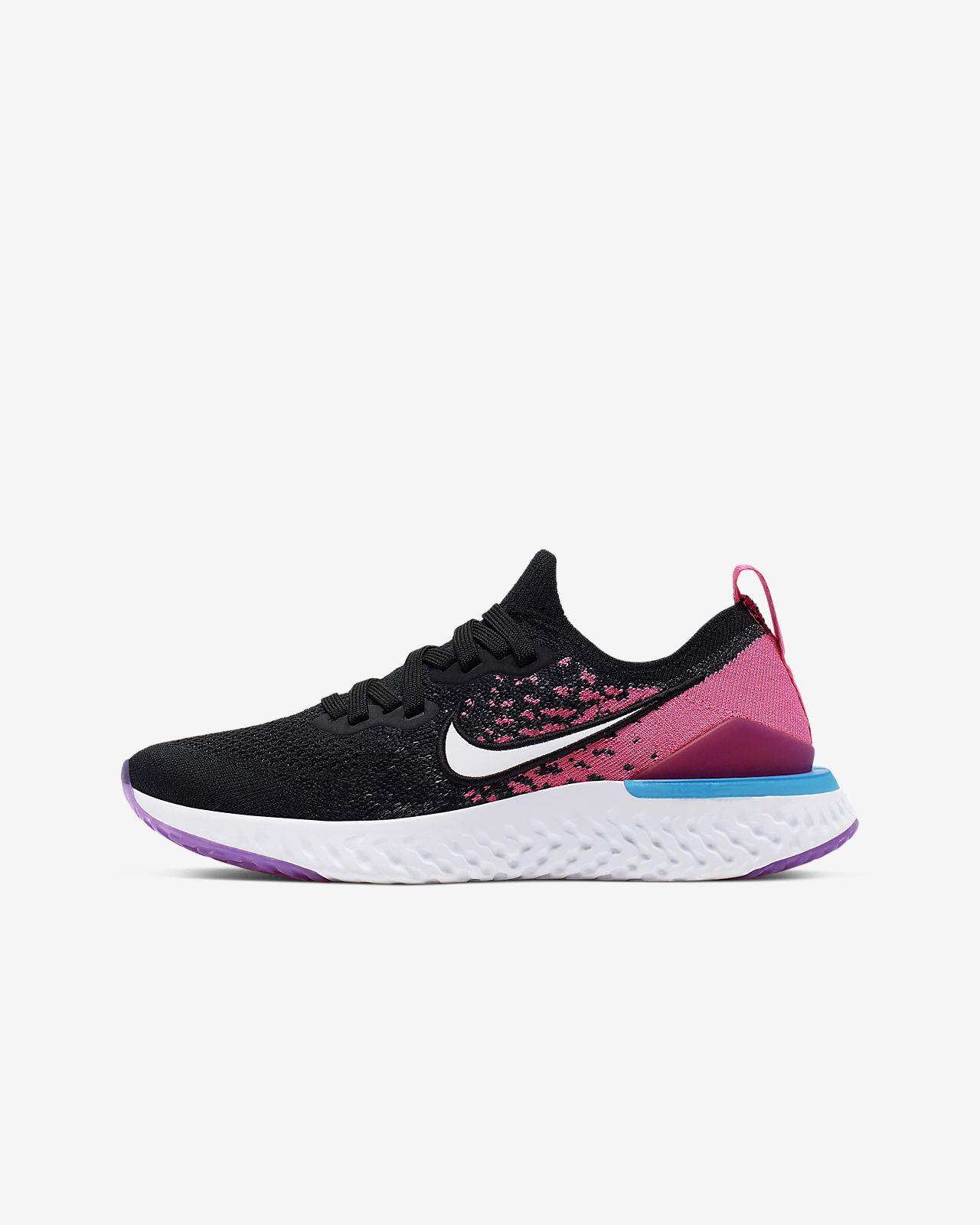 Nike Epic React Flyknit 2 Older Kids' Running Shoe