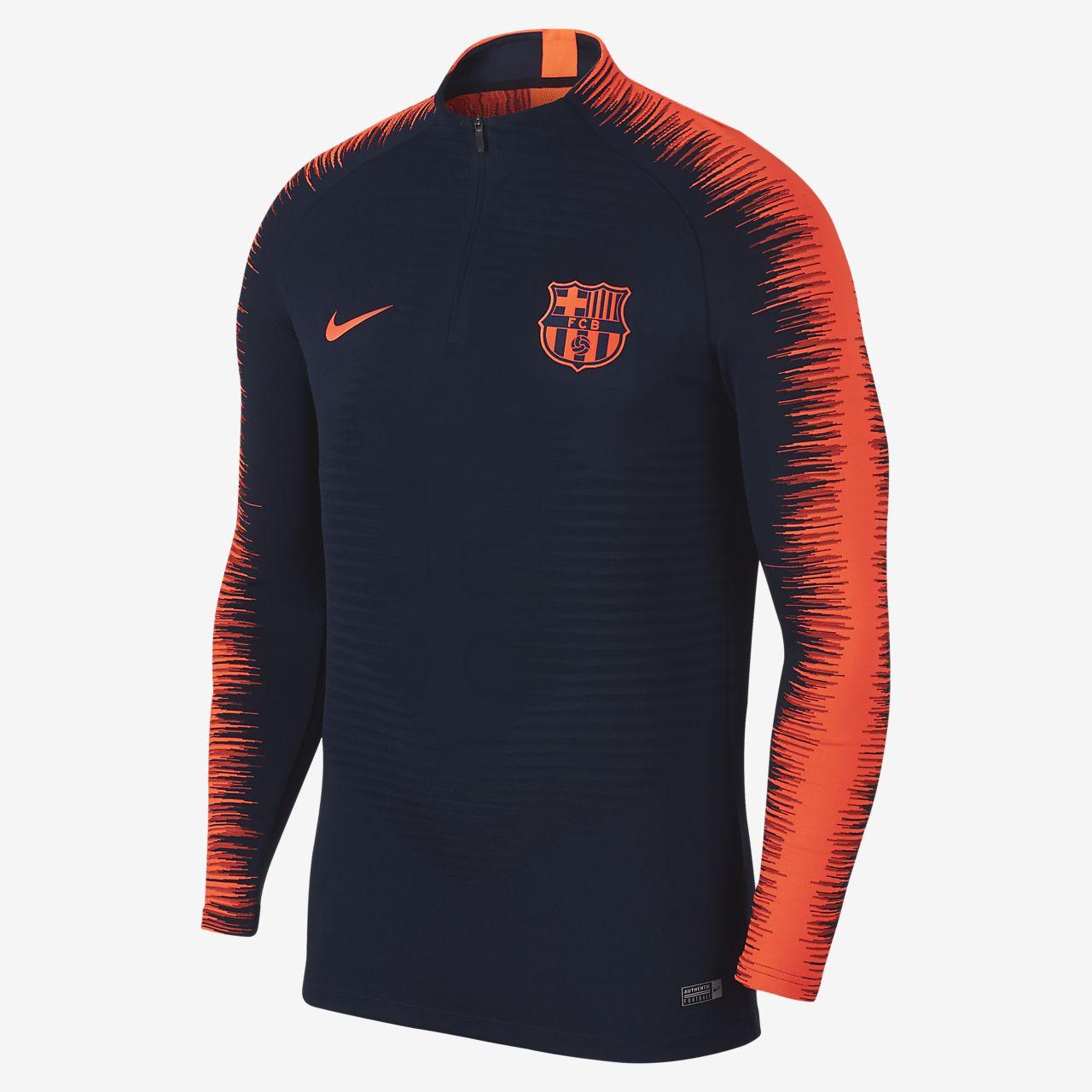 FC Barcelona VaporKnit Strike Drill Men's Football Top
