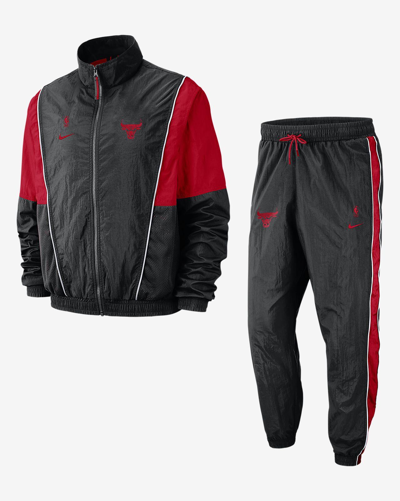 Conjunto de entrenamiento de la NBA para hombre Chicago Bulls Nike