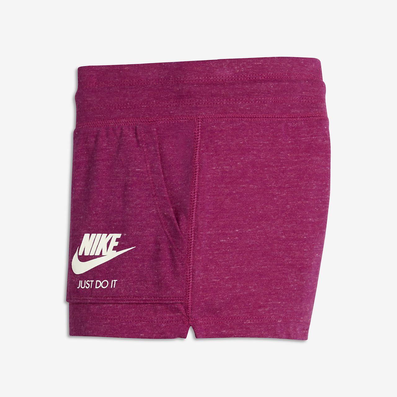 Nike Gym Vintage 大童(女孩)短裤