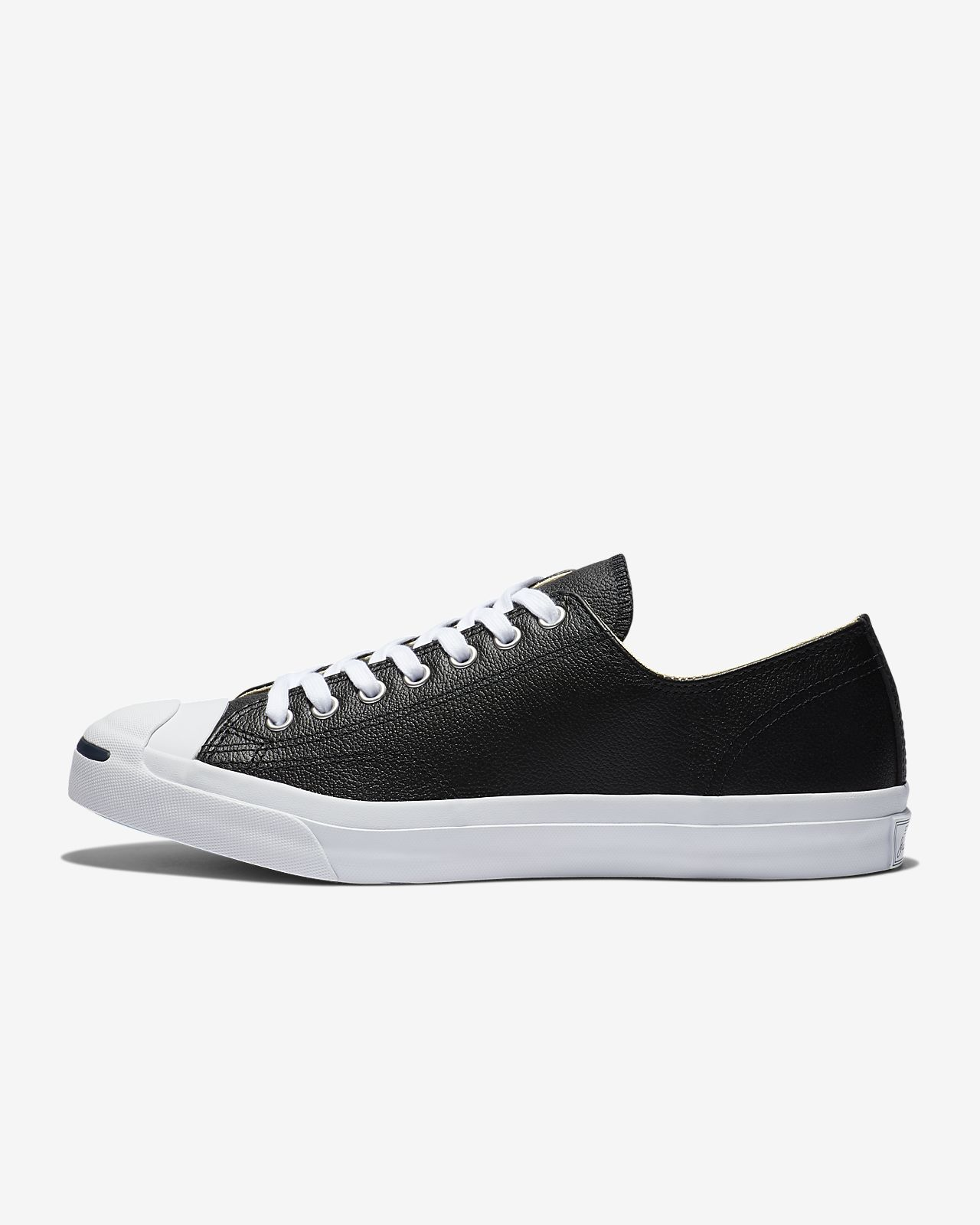 Converse Jack Purcell Tumbled Leather Low Top Unisex Shoe