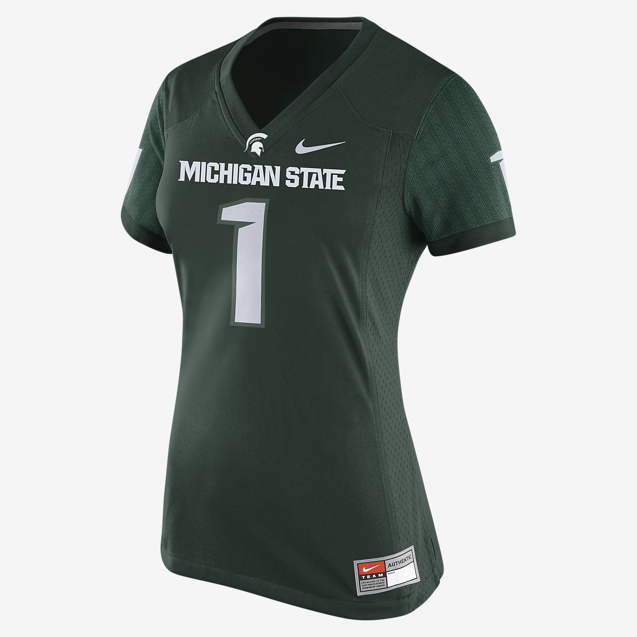 Nike College Game (Michigan State) Women's Football Jersey