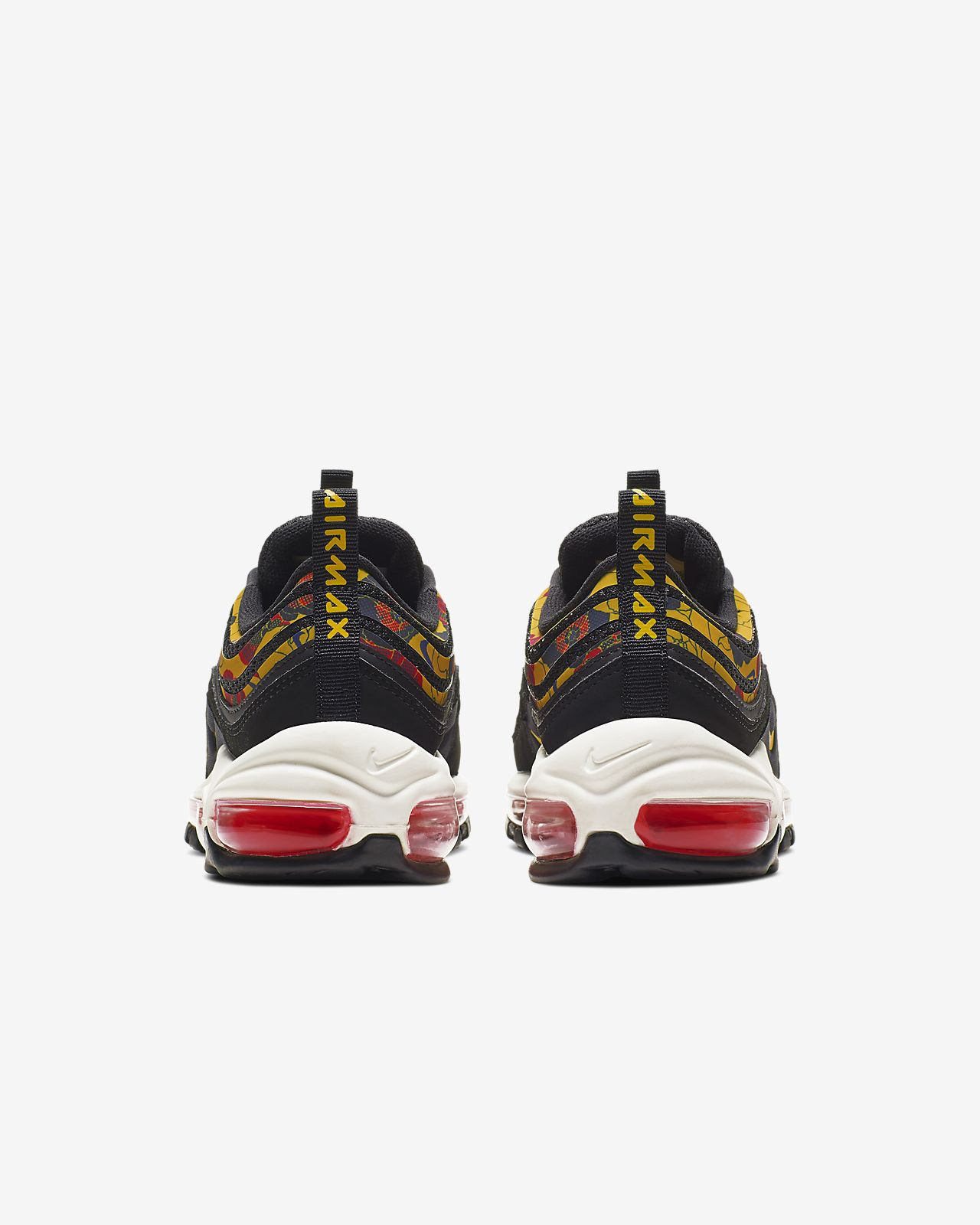 BV0129 001 Nike Wmns Air Max 97 SE Floral BlackUniversity