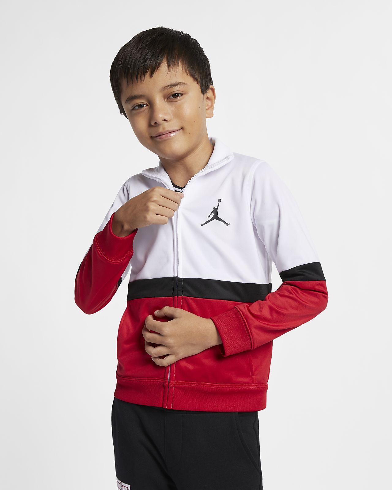 Jordan Sportswear Diamond Jacke mit durchgehendem Reißverschluss für jüngere Kinder