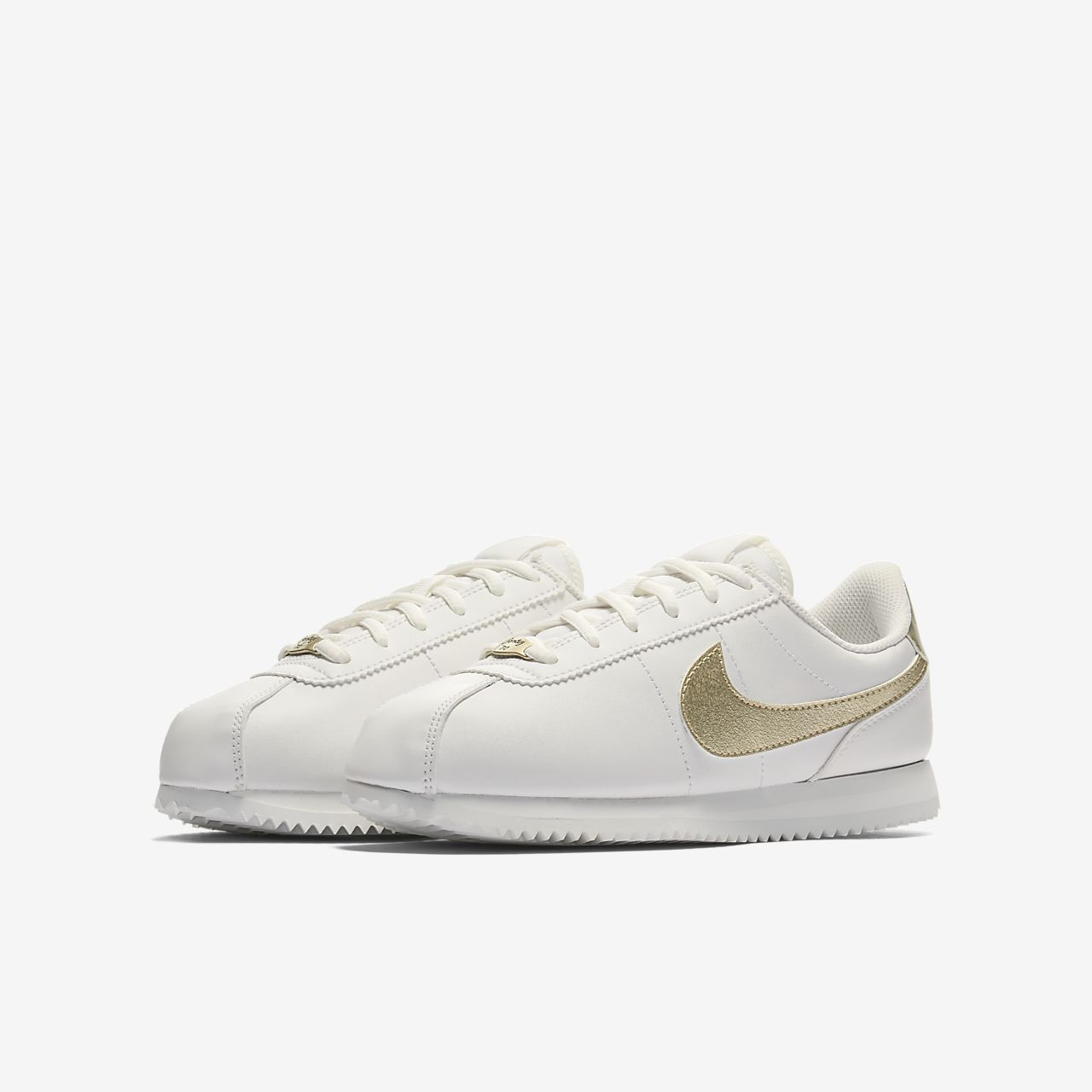 timeless design cdeac 8599b 50% off nike cortez white gold 56ba5 00e9d