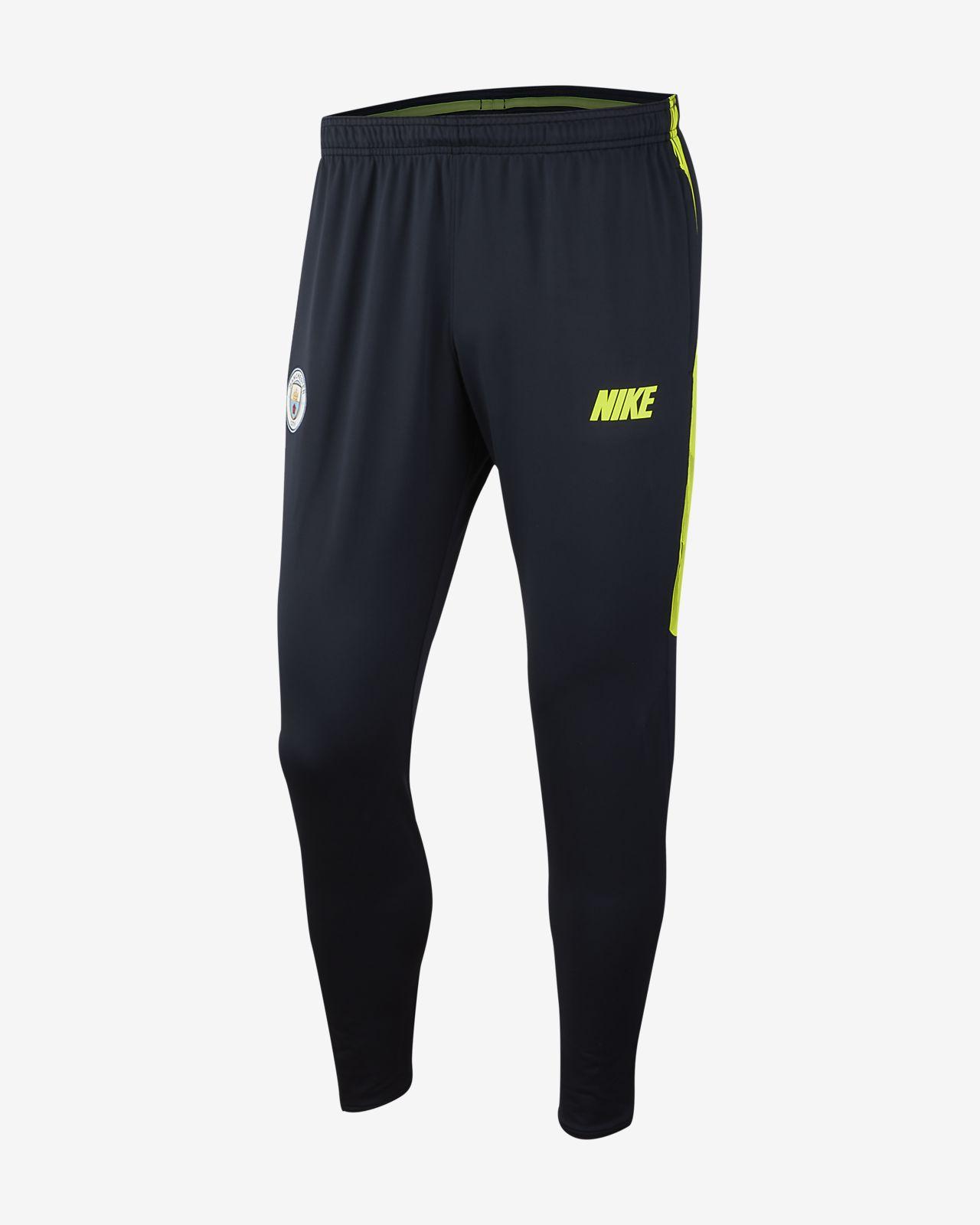 Męskie spodnie piłkarskie Manchester City FC Dri-FIT Squad