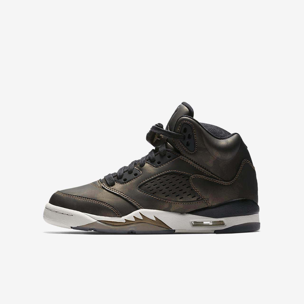 Premium Ragazzi Retro Collection Air 5 Nike Scarpa Jordan Heiress q0PIn6w