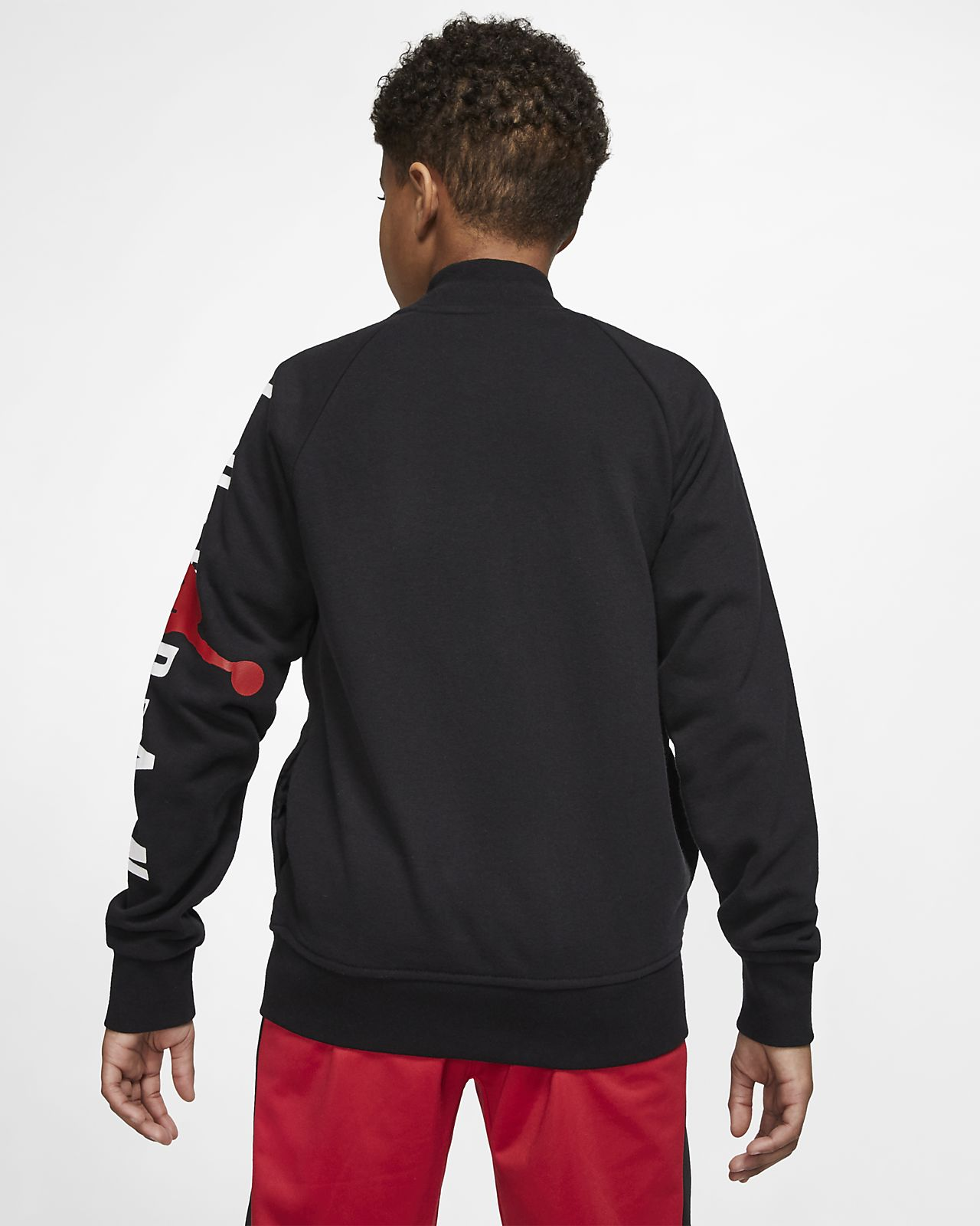 online store d1fe9 8b31e ... Jordan Jumpman Stadium Big Kids  (Boys ) Jacket