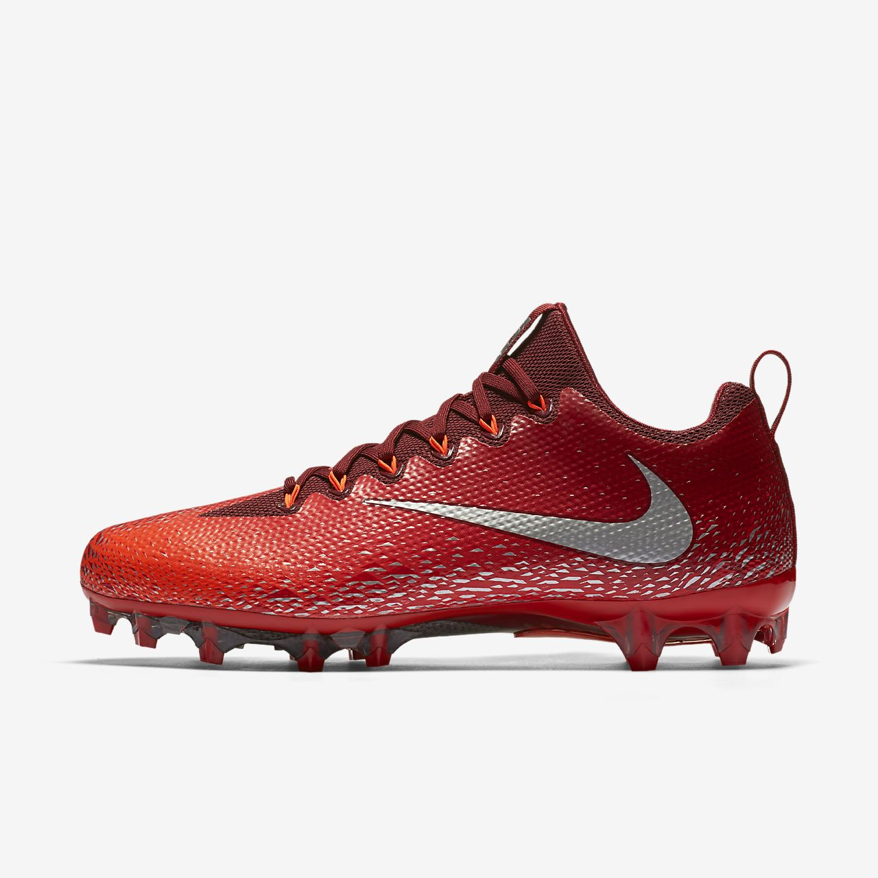 Nike Vapor Untouchable Pro Football Shoes Team Red/Total Crimson/University Red/Metallic Silver