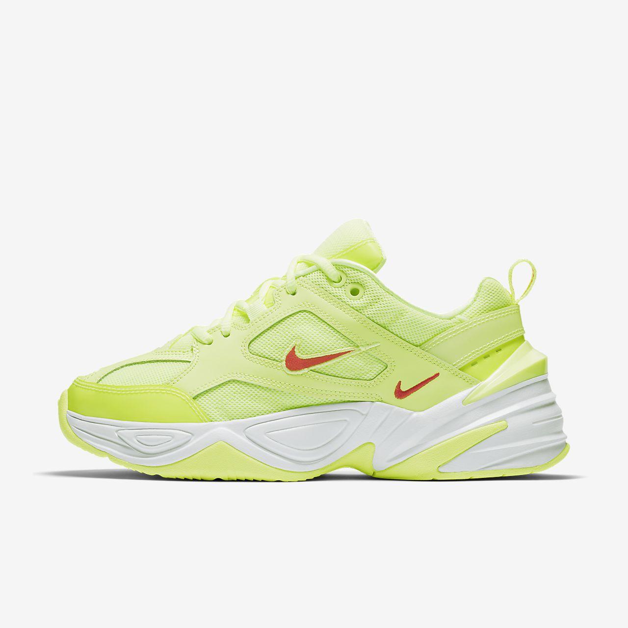 Jaune Tekno Chaussures Nike M2k Noire Baskets Et Femme