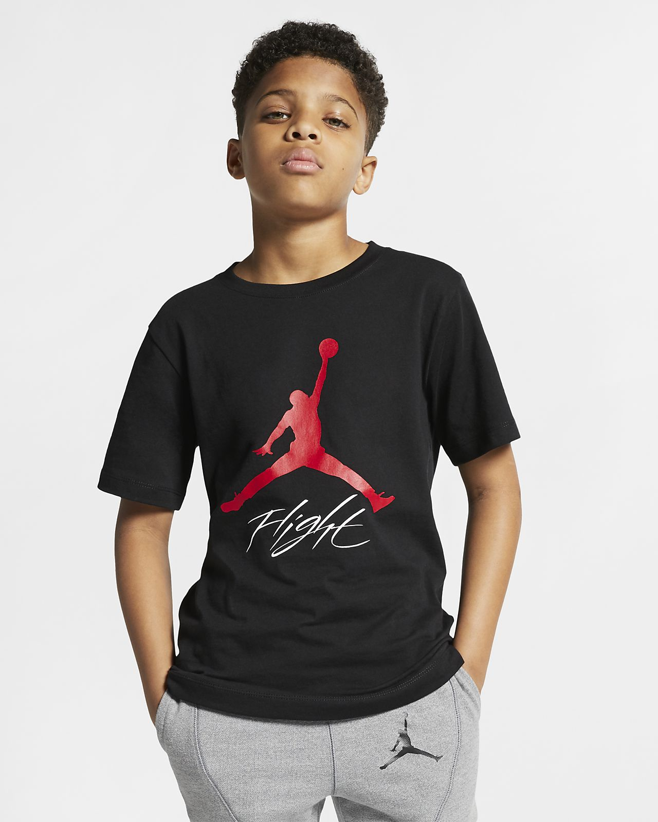 ae22c9bd2d3e Jordan Jumpman Flight Older Kids  (Boys ) T-Shirt. Nike.com HU