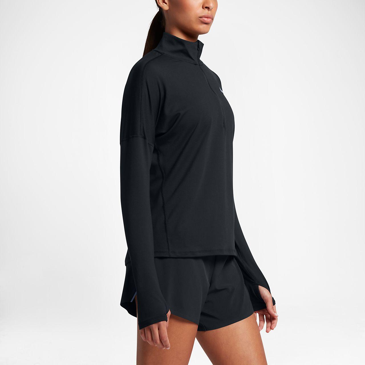 2c31c944a72b42 Nike Dri-FIT Women s Long-Sleeve Running Half-Zip Top. Nike.com GB