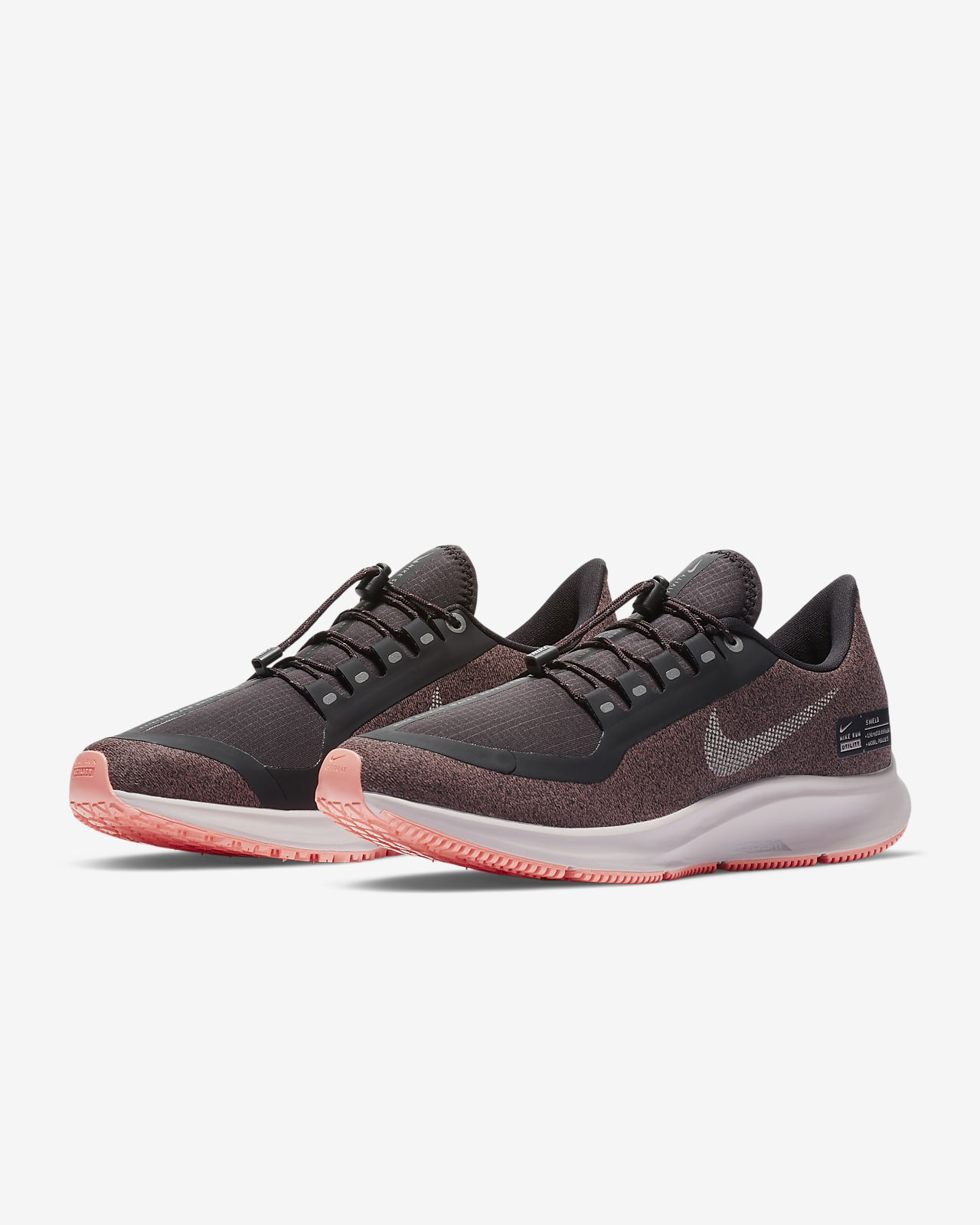 2bb40cec2285 Nike Air Zoom Pegasus 35 Shield Water-Repellent Women s Running Shoe ...