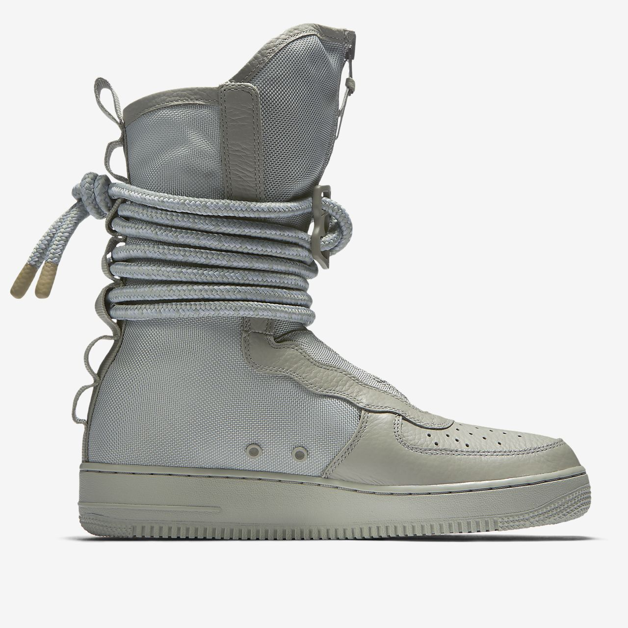 Nike SF Air Force 1 Hi Men's Lifestyle Boots Grey/White aA4904N