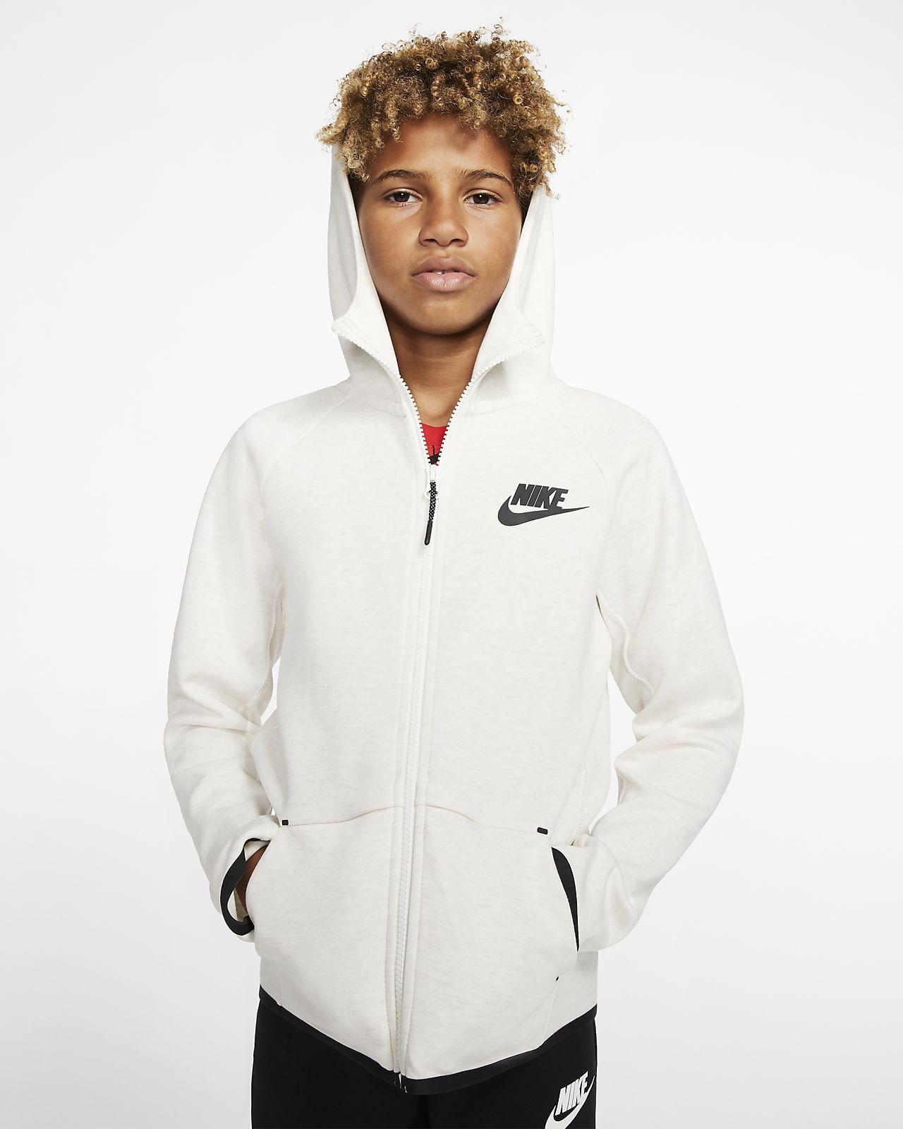 Nike Sportswear Tech Fleece Kinderjack met rits over de hele lengte