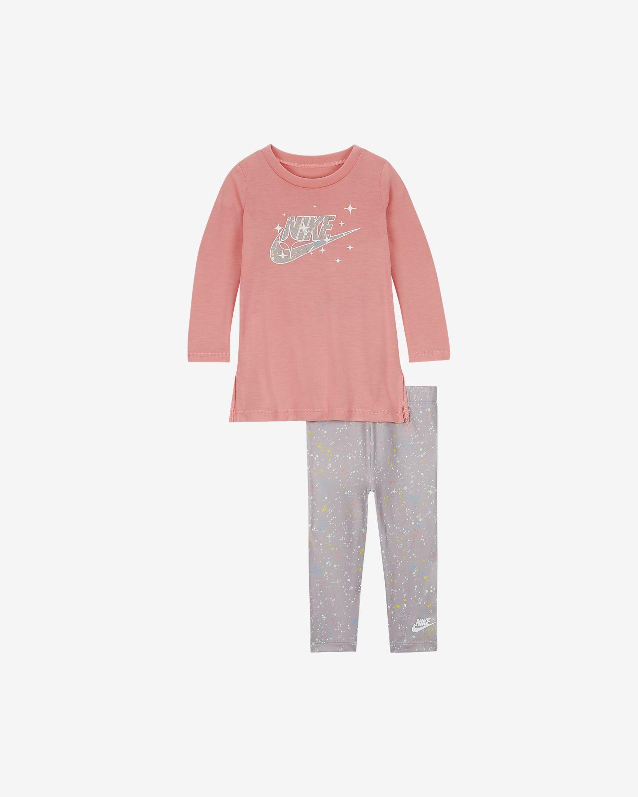 Nike Baby (12-24M) Top and Leggings Set