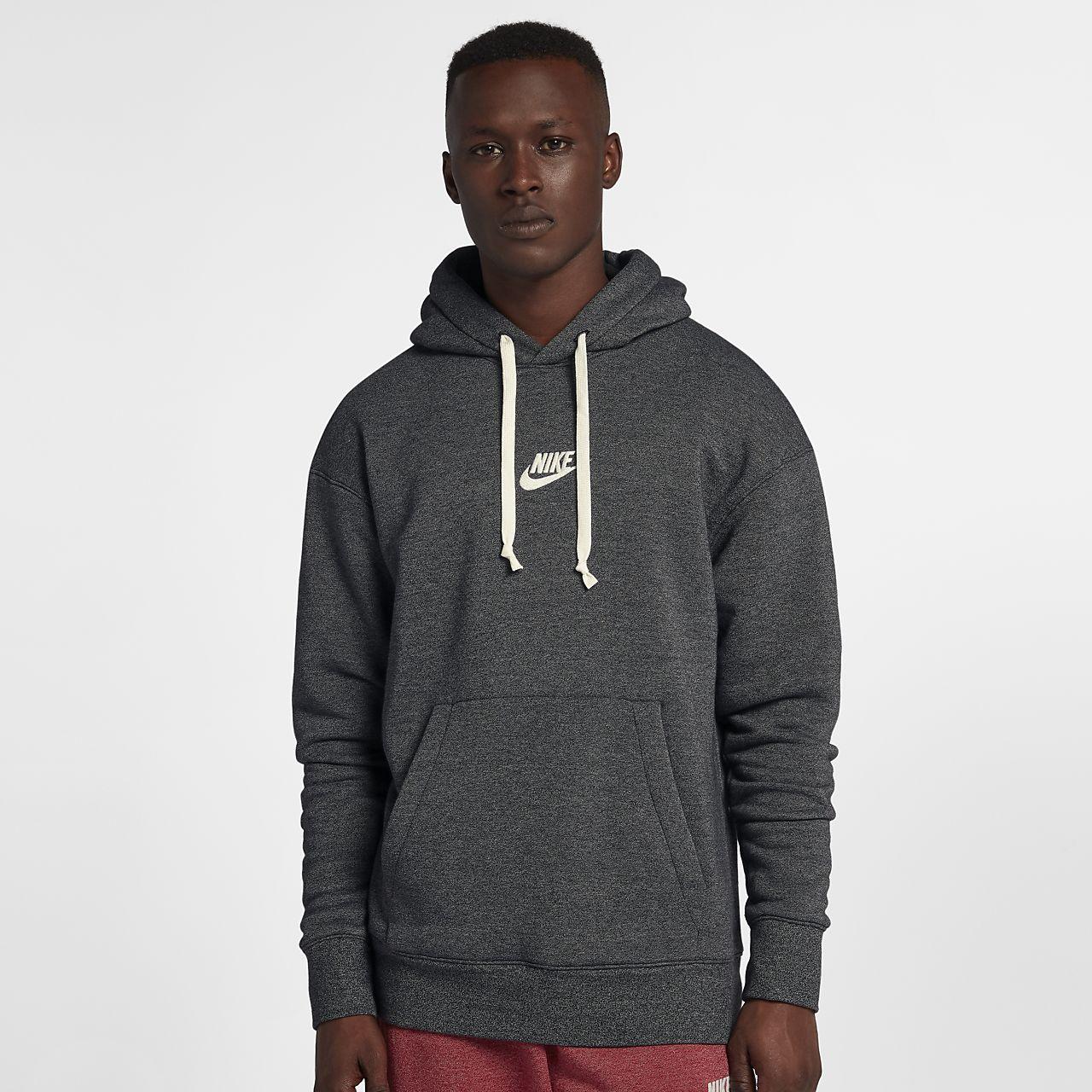 Felpa Nike Heritage Pullover Con Sportswear Uomo Cappuccio ZpxZR