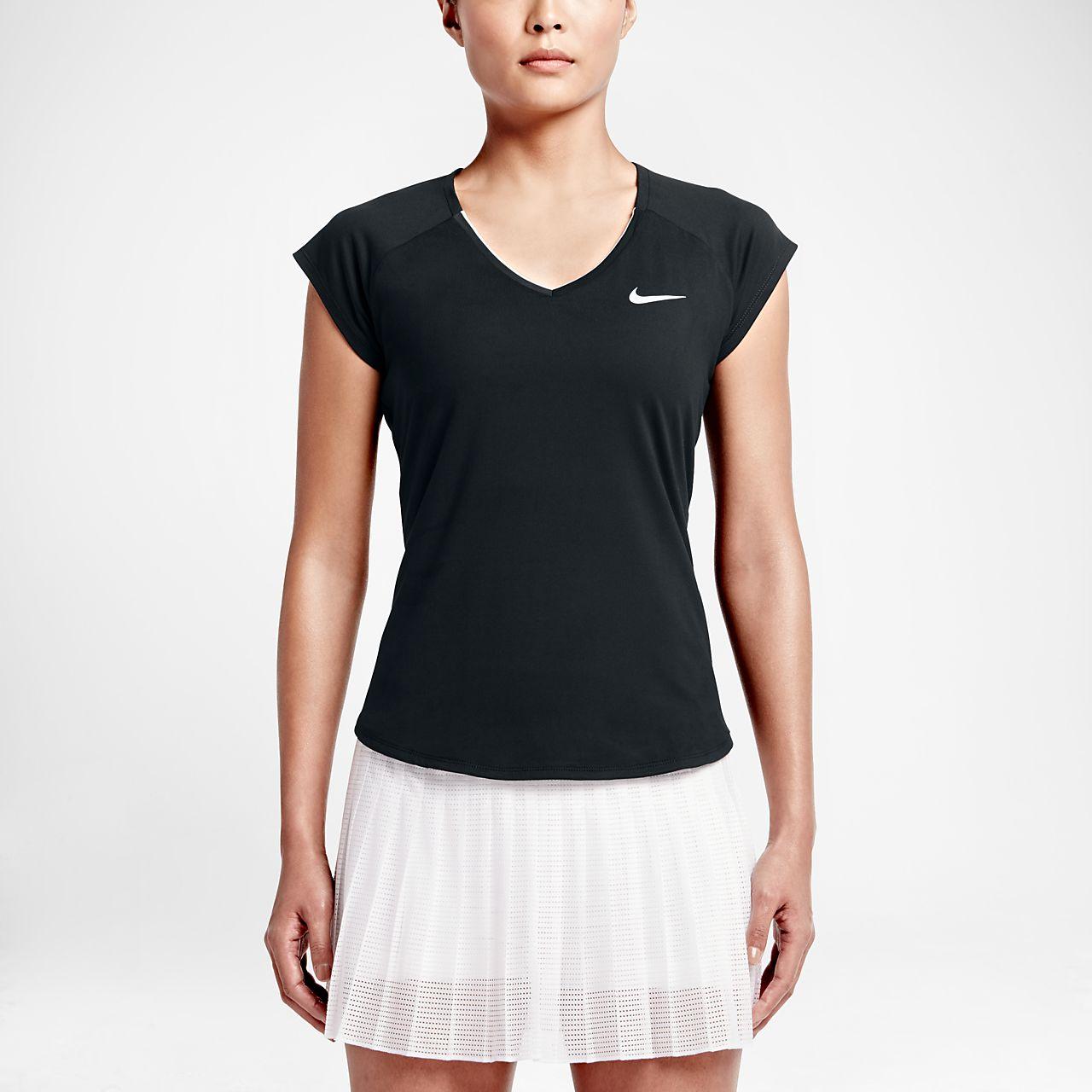 Maglia da tennis NikeCourt Pure - Donna