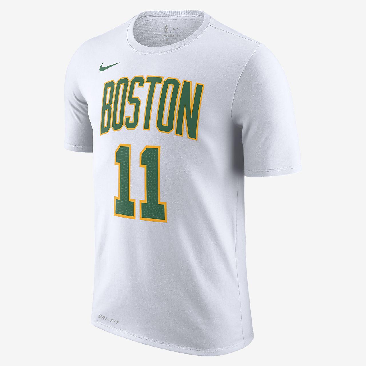 波士顿凯尔特人队 (Kyrie Irving) City Edition Nike Dri-FIT 男子 NBA T恤