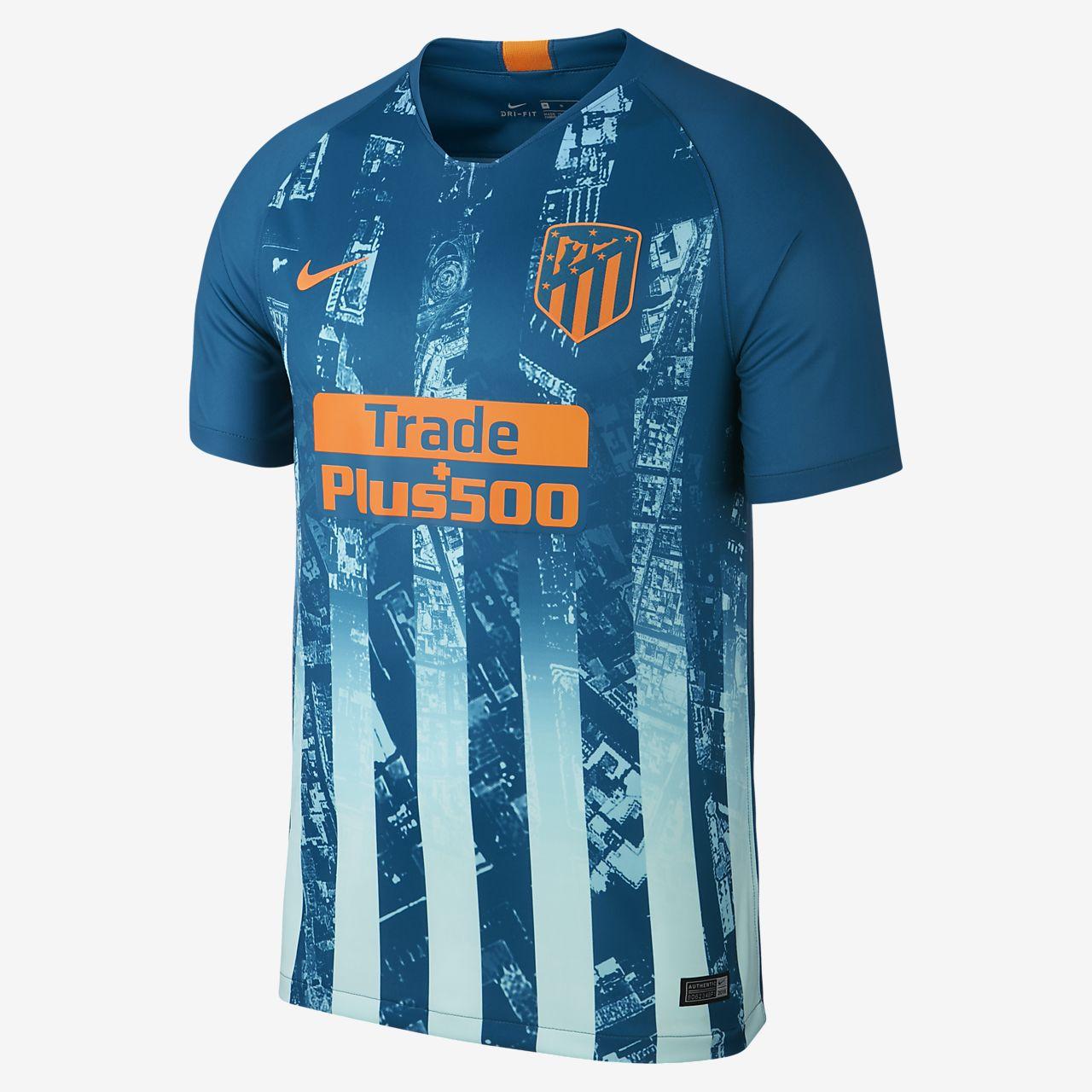 Camiseta de fútbol para hombre alternativa Stadium del Atlético de Madrid 2018/19