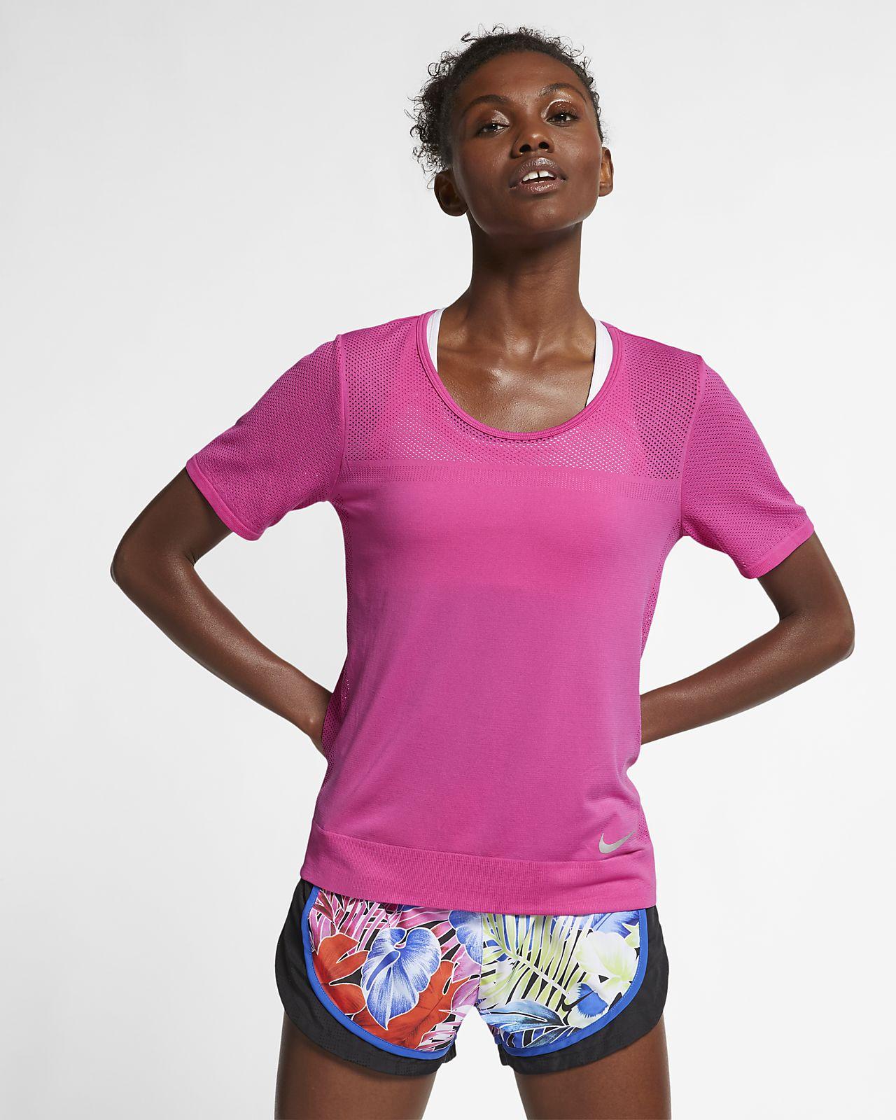 Kortärmad löpartröja Nike Infinite för kvinnor