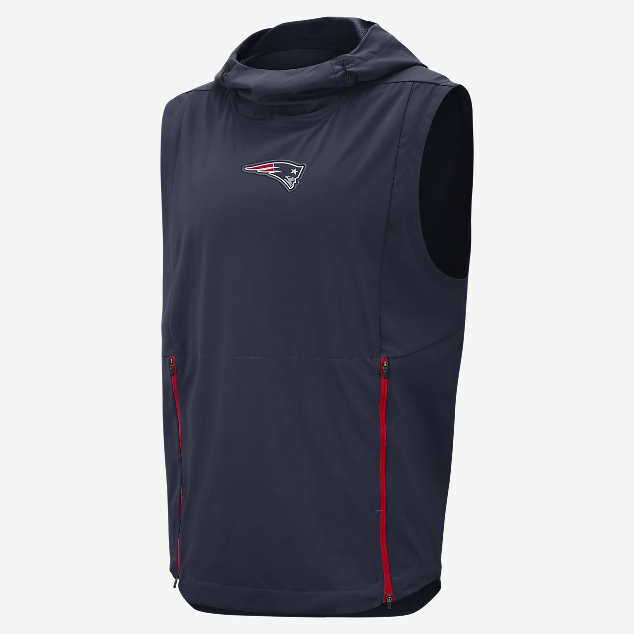 Nike Shield Fly Rush (NFL Patriots) Men's Hooded Pullover Vest