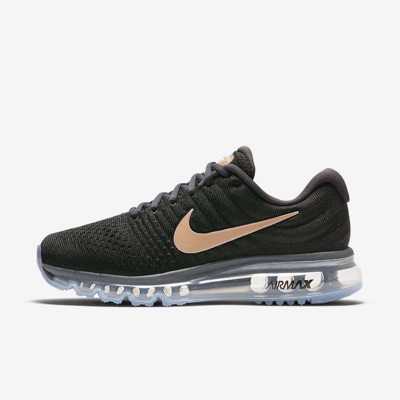 Nike Air Max 90 Kadınlar Spor Ayakkabısı Siyah Pembe Nefes
