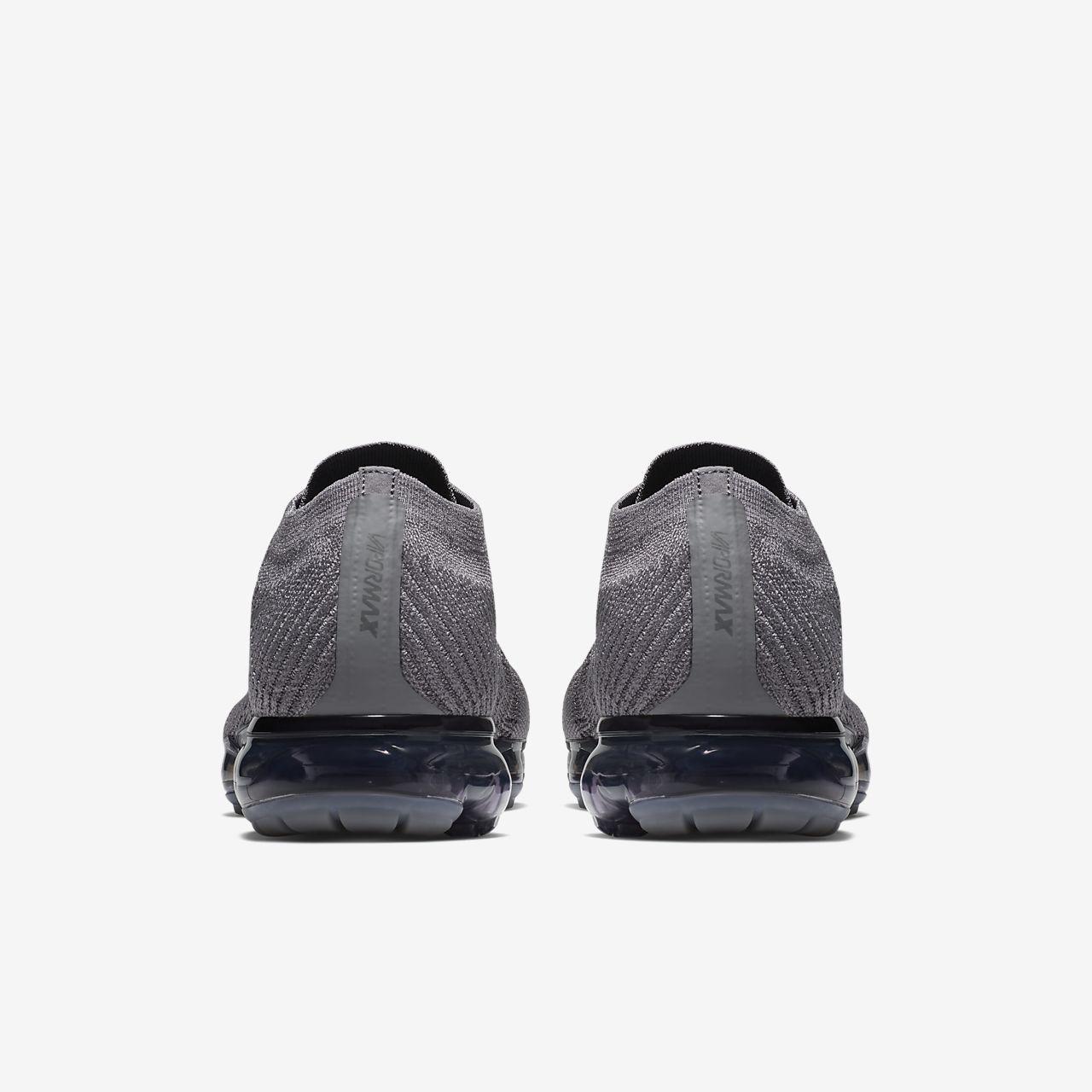 da384b4beb Nike Air VaporMax Flyknit Navy Blue Purple Men's Running Shoes