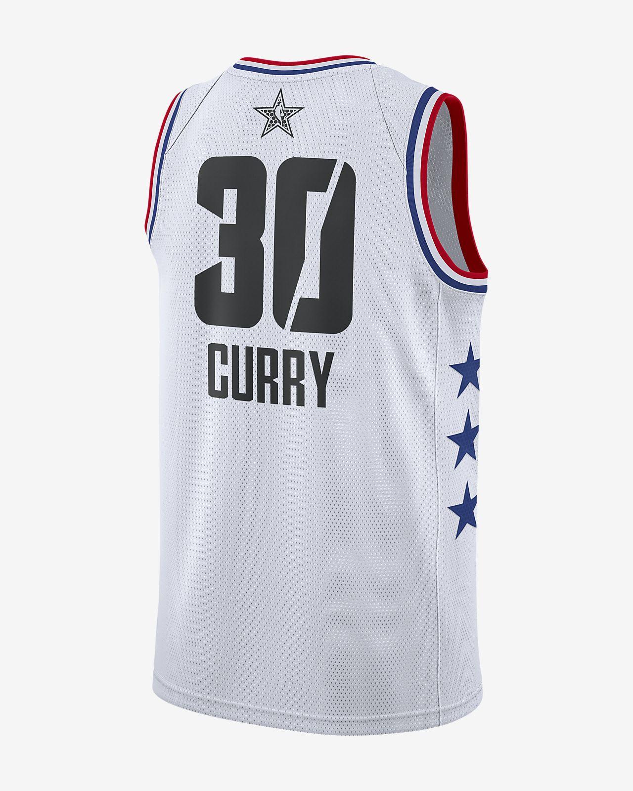7e80c4602 Men's Jordan NBA Connected Jersey. Stephen Curry All-Star Edition Swingman