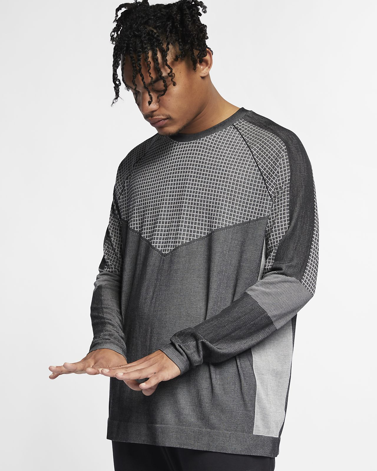 5290579b3aa5b9 Nike Sportswear Tech Pack Men s Long-Sleeve Knit Top. Nike.com