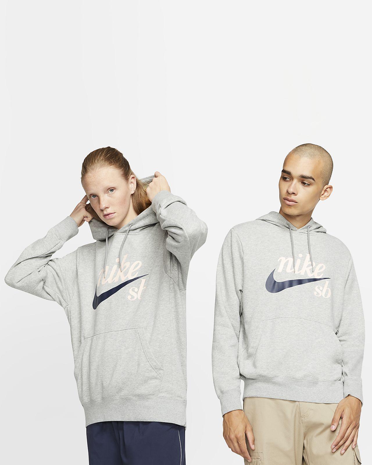 Μπλούζα με κουκούλα για skateboarding Nike SB Icon