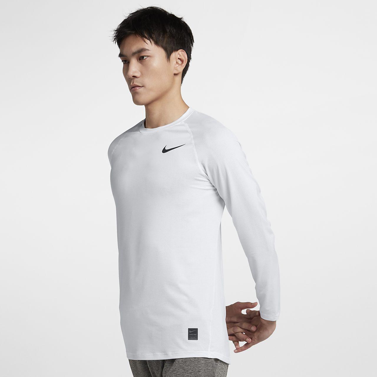 Nike Pro 男子长袖训练上衣