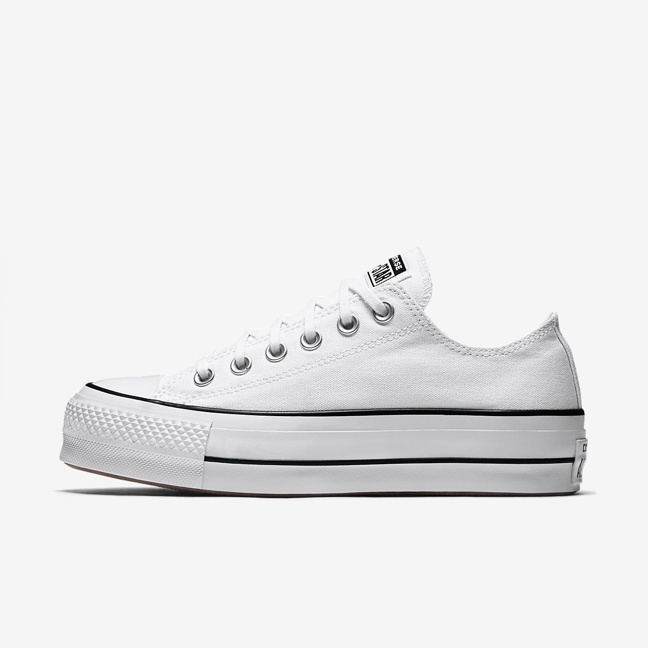 converse all star leather women platform