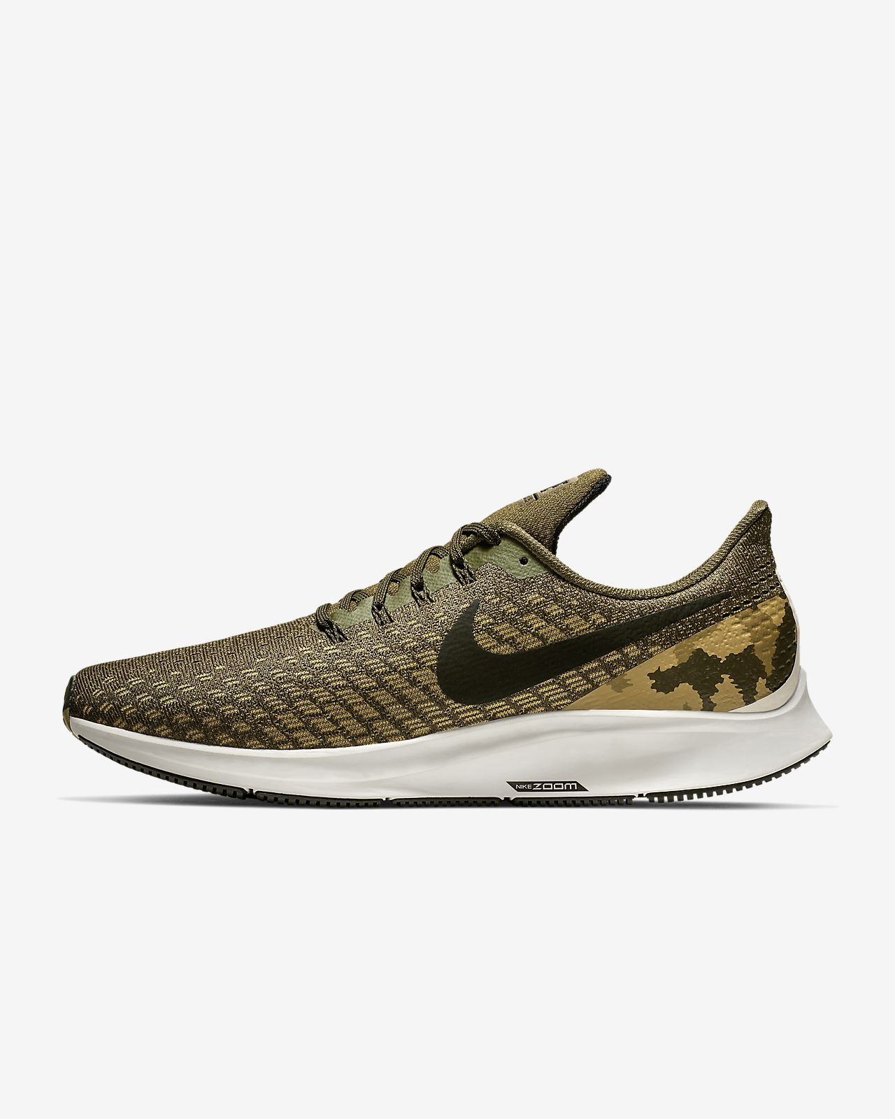 Nike Air Zoom Pegasus 35 Men's Camo Running Shoe