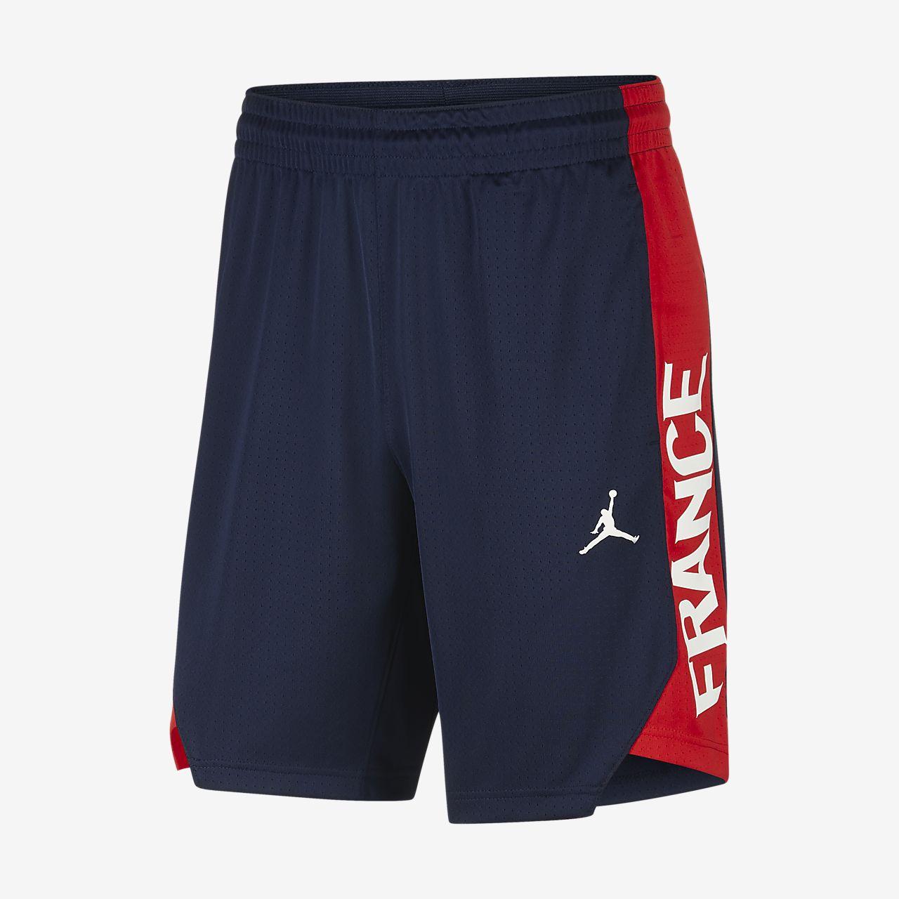 Team France Jordan 男子篮球短裤