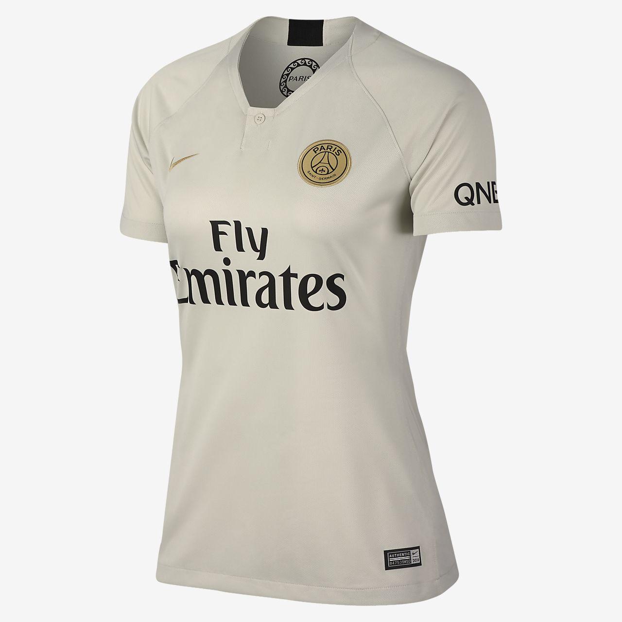 Camiseta de fútbol para mujer 2018 19 Paris Saint-Germain Stadium Away 874a2a92eb2f0