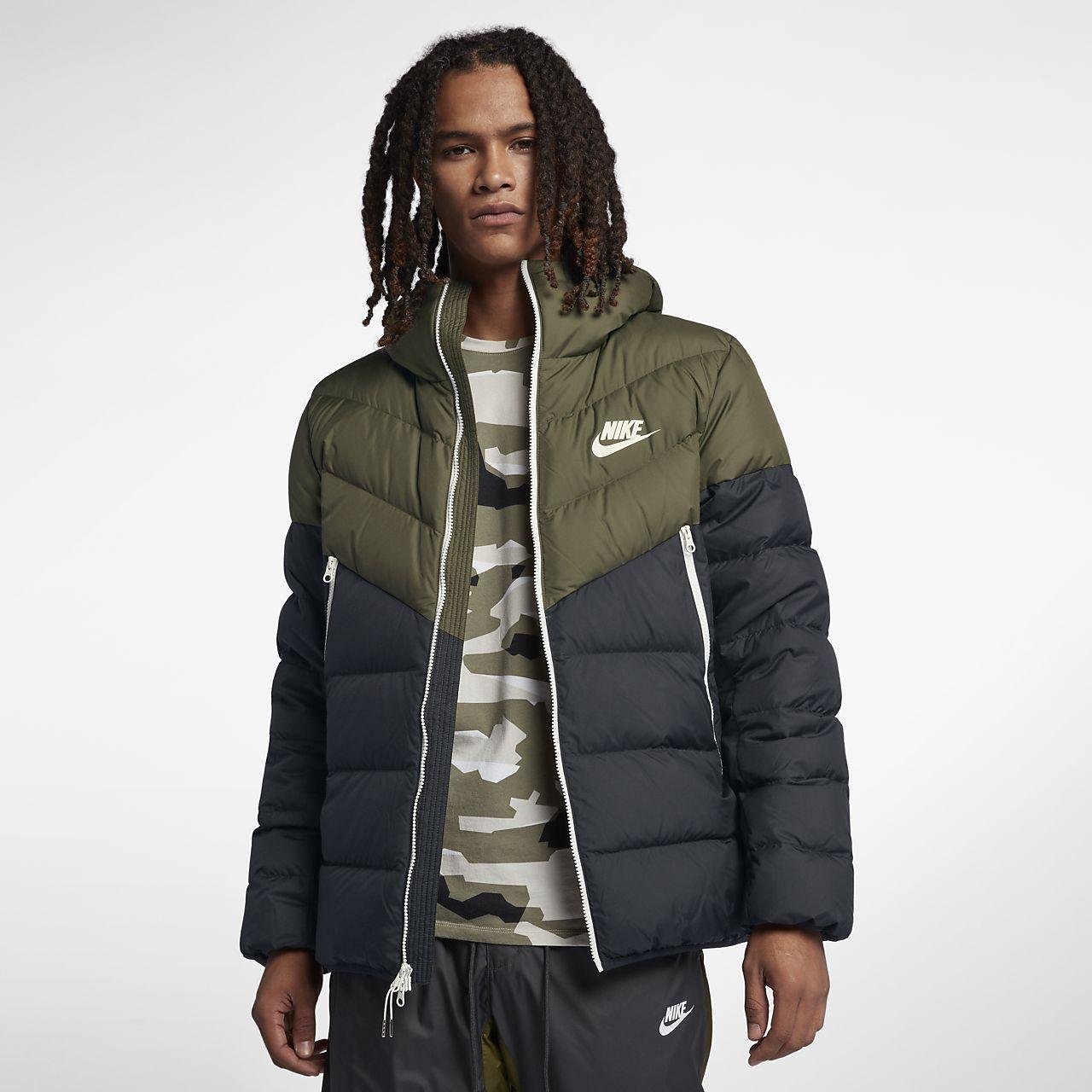 Nike Sportswear Windrunner Down Fill Men's Hooded Jacket ...