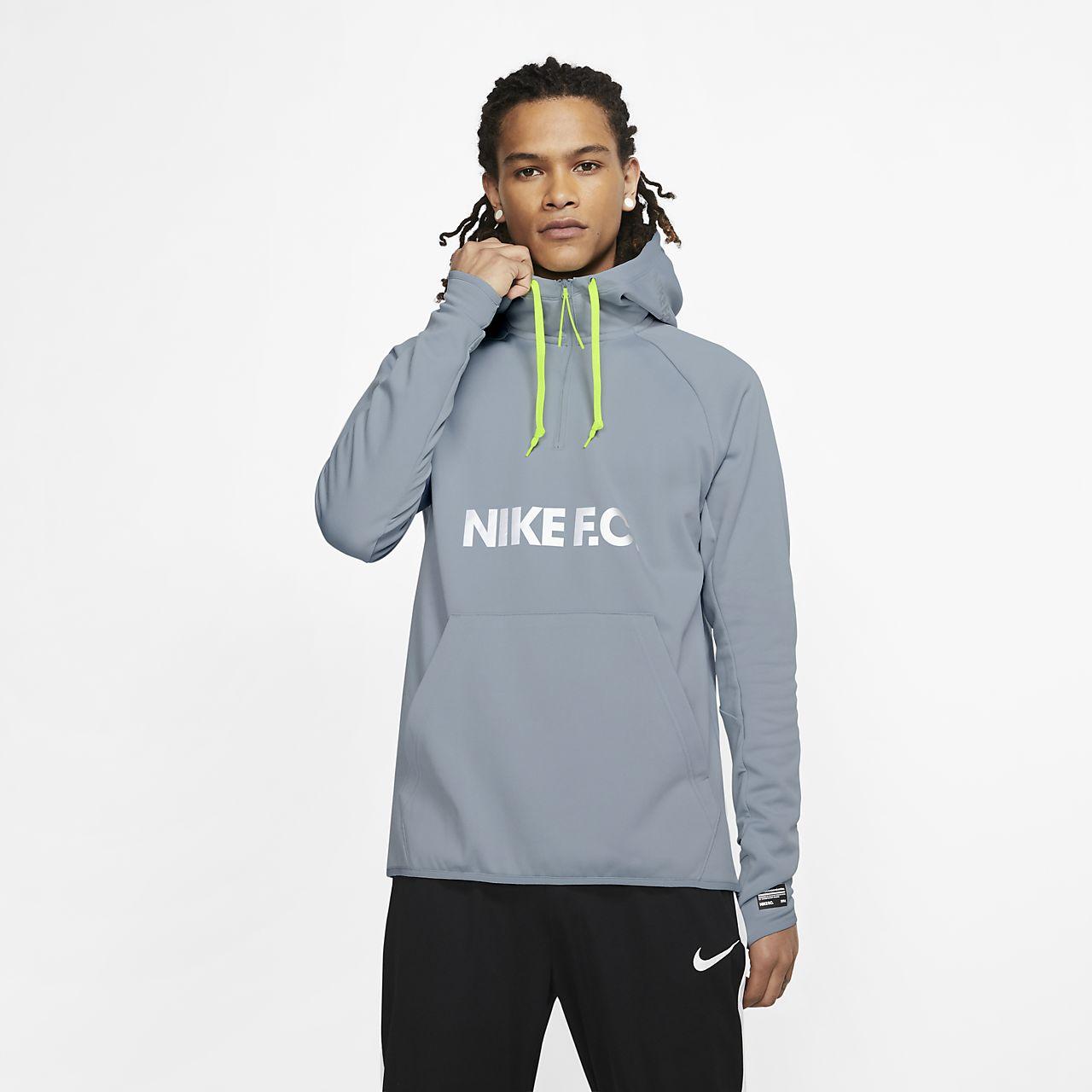 Fotbalová mikina Nike F.C. s kapucí. Nike.com CZ 9faffd35bb1