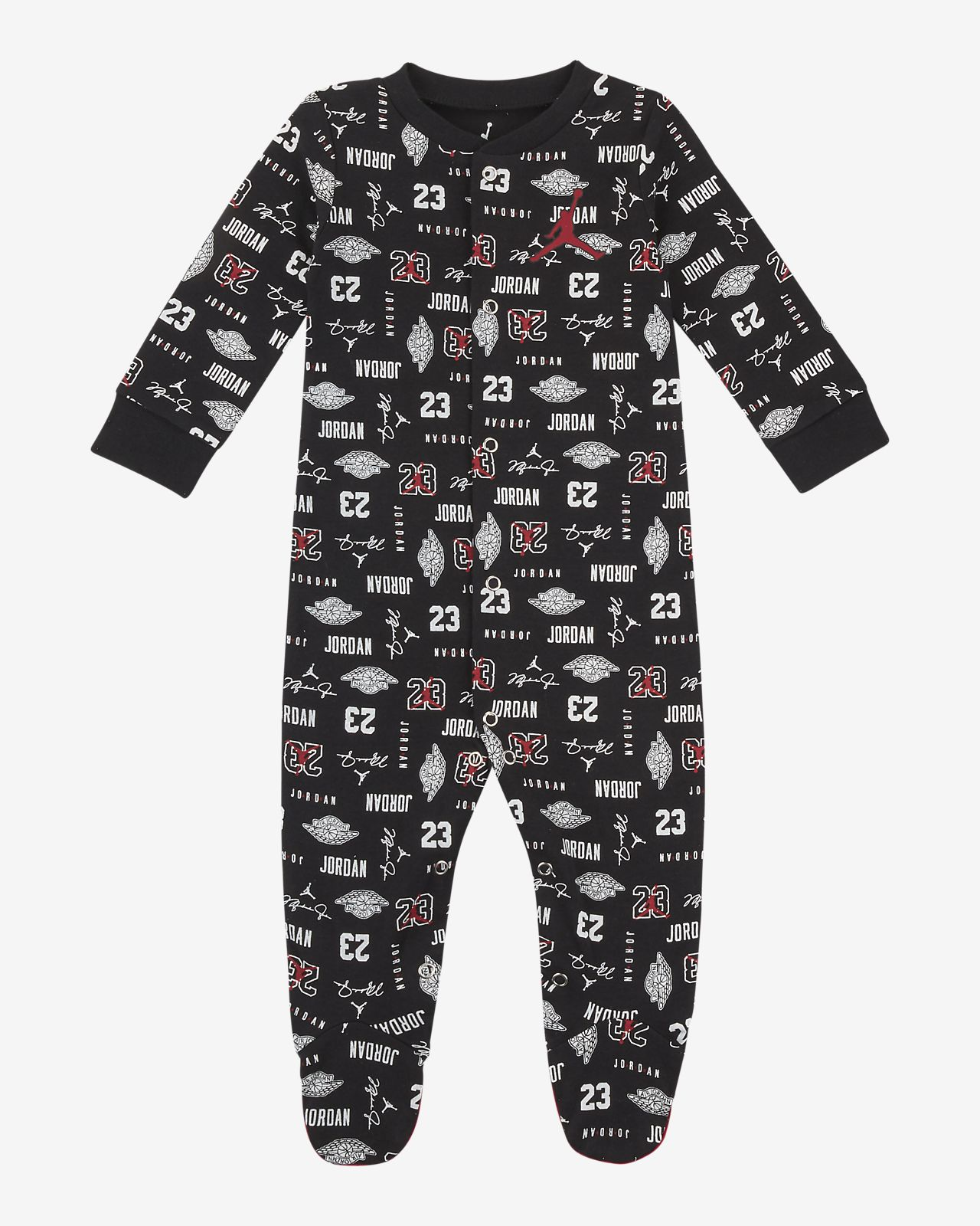 Jordan Jumpman 23 Baby (0–9M) Footed Overalls